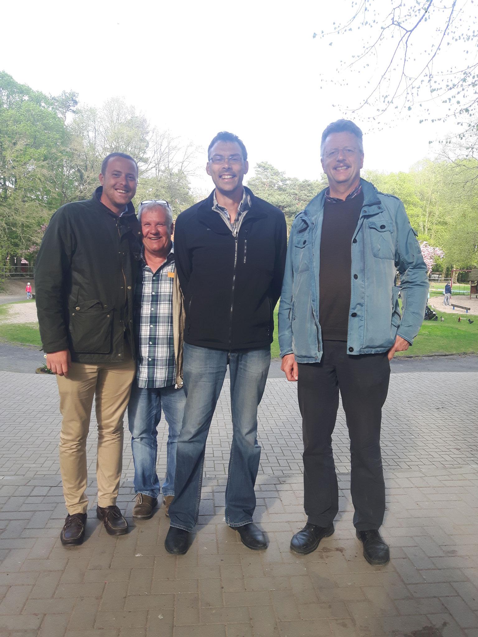 Lukas, Alois, Karl und Christoph :-)