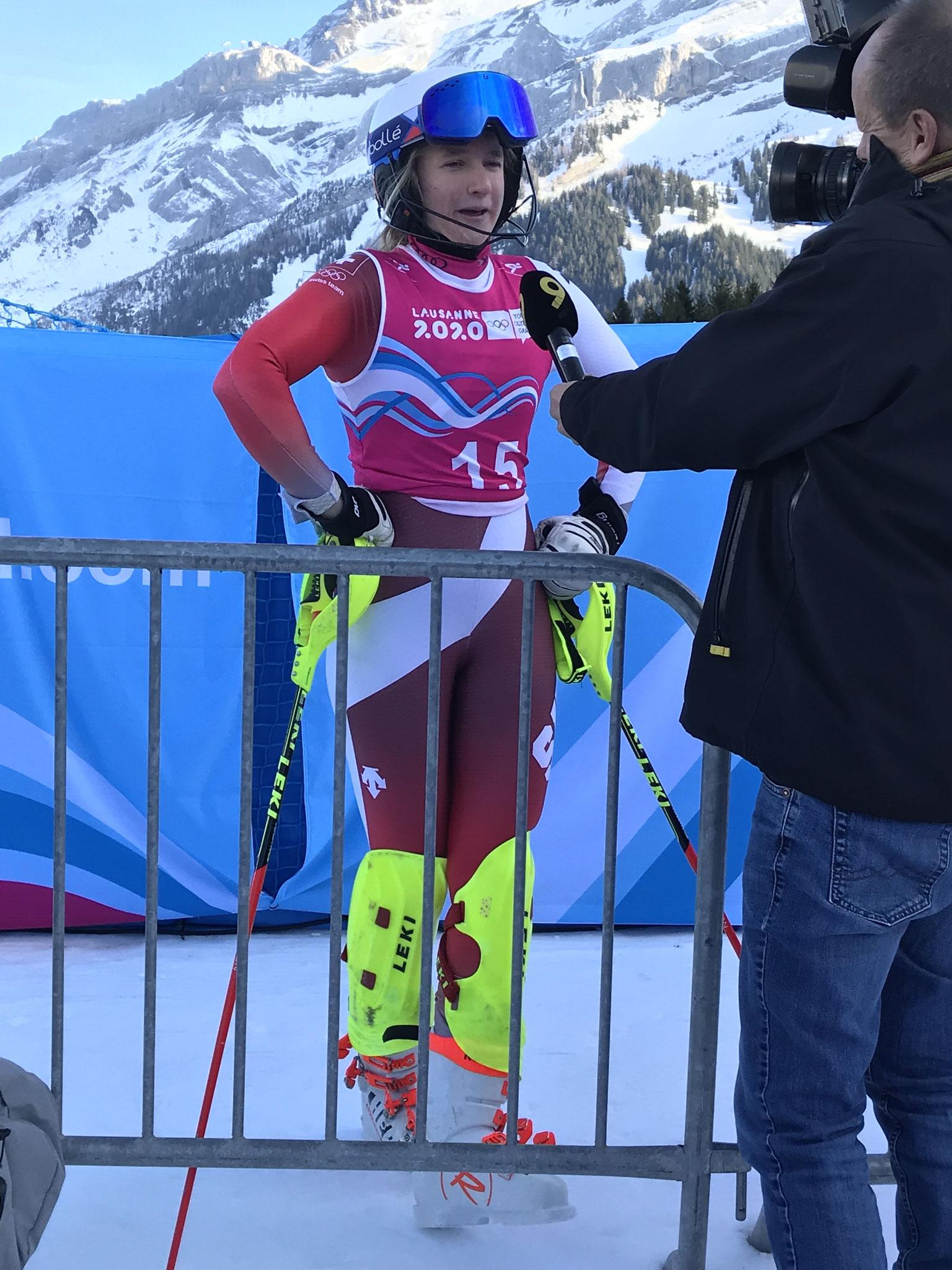 Lena Volken, deuxième au classement final