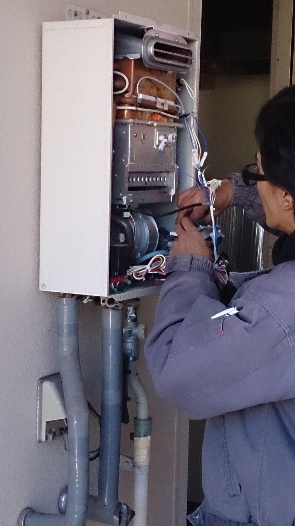 ガス給湯器取替・修理