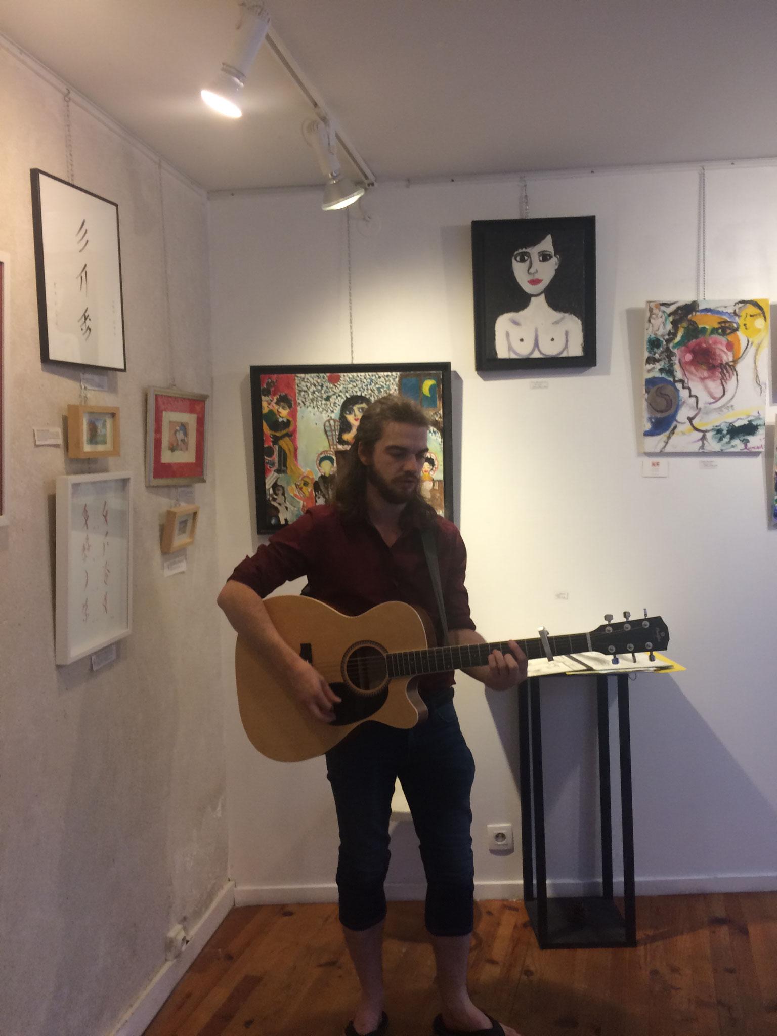 Soirée musique et poésie avec Guillaume