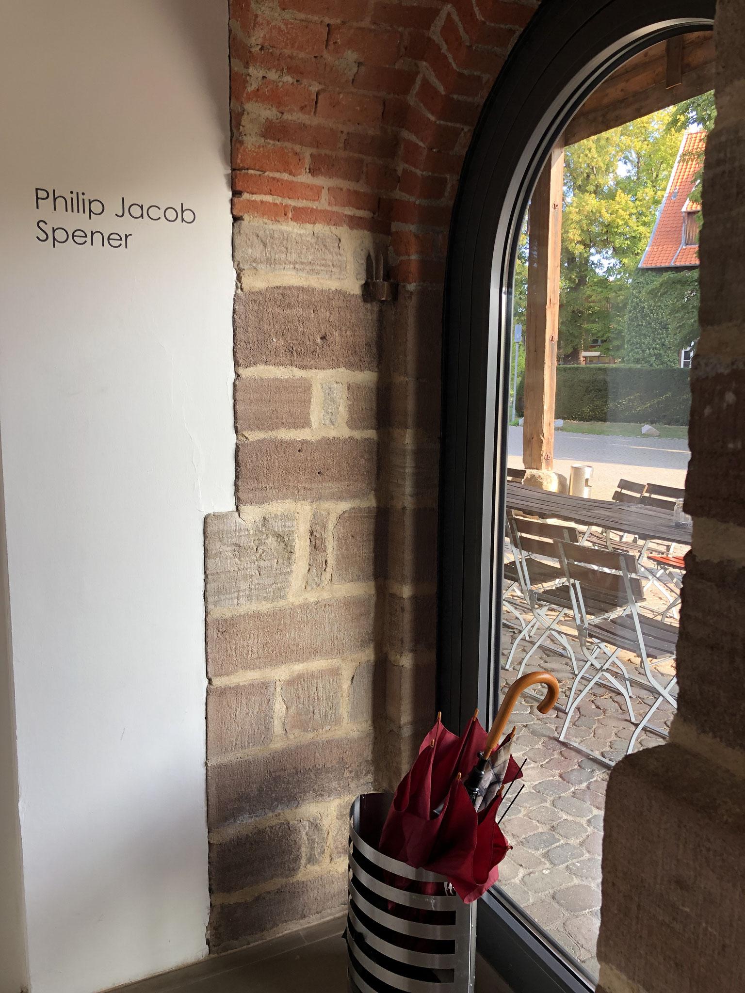 Domänenscheune - Blick aus dem Foyer