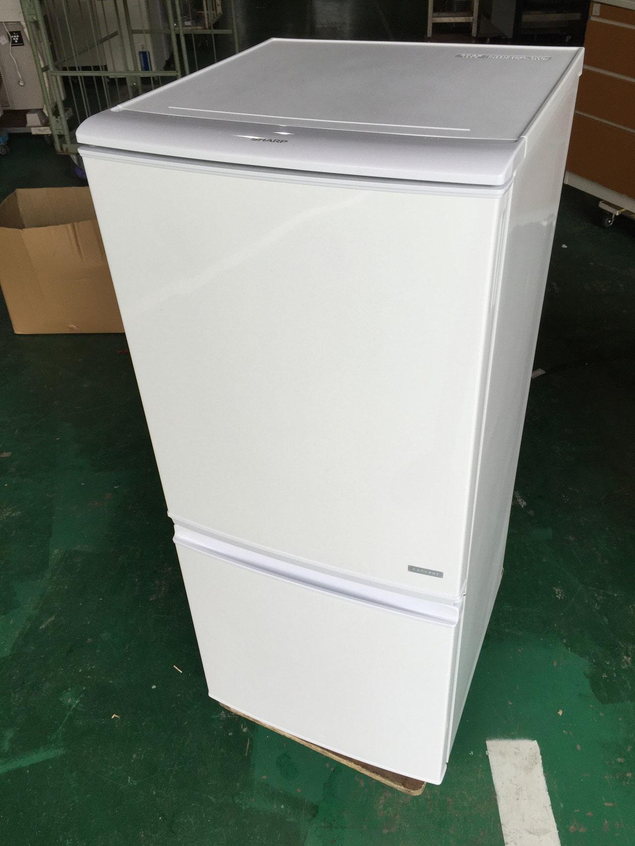 SHARP2ドア冷蔵庫14年製