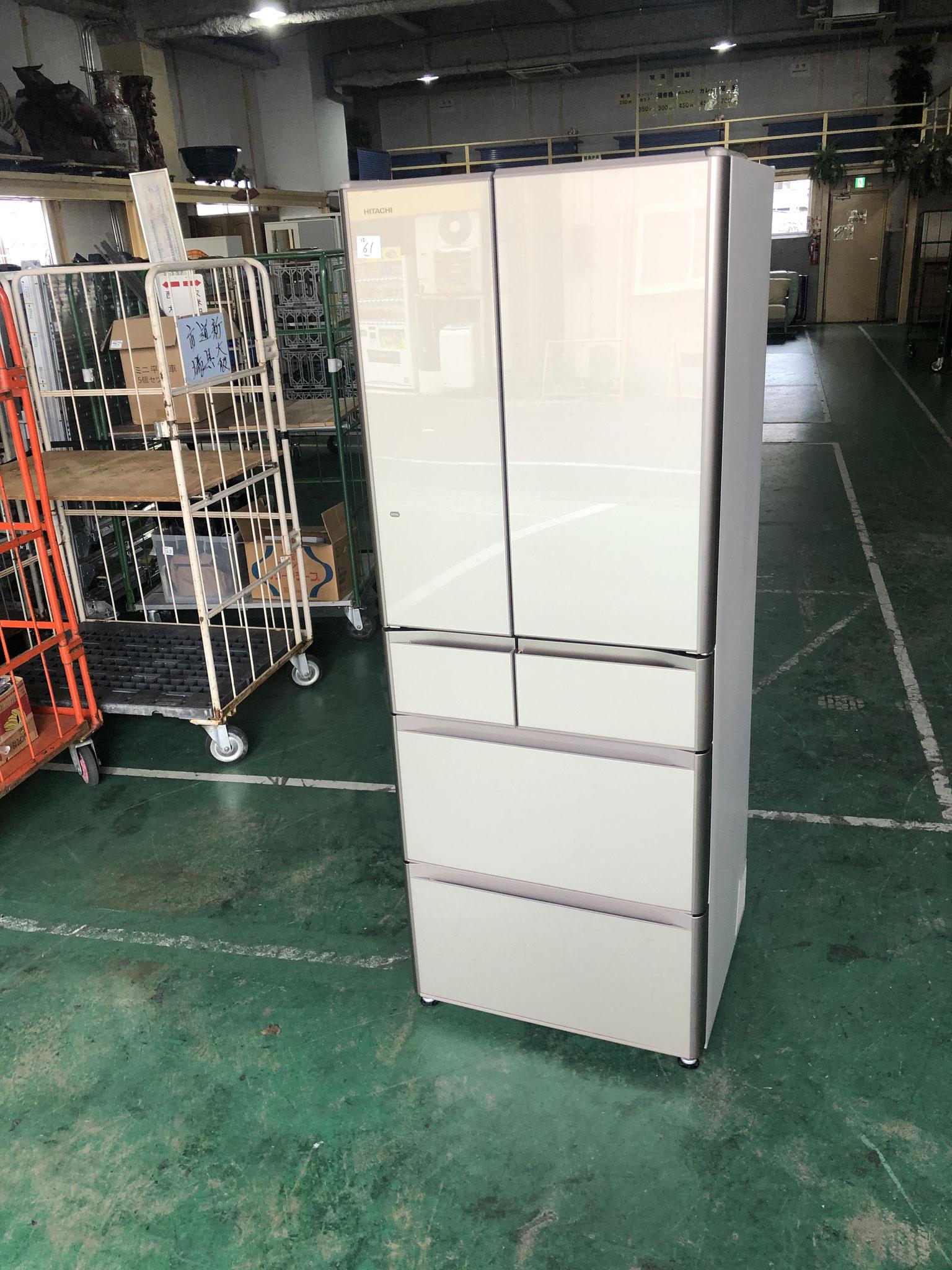 日立6ドア冷蔵庫