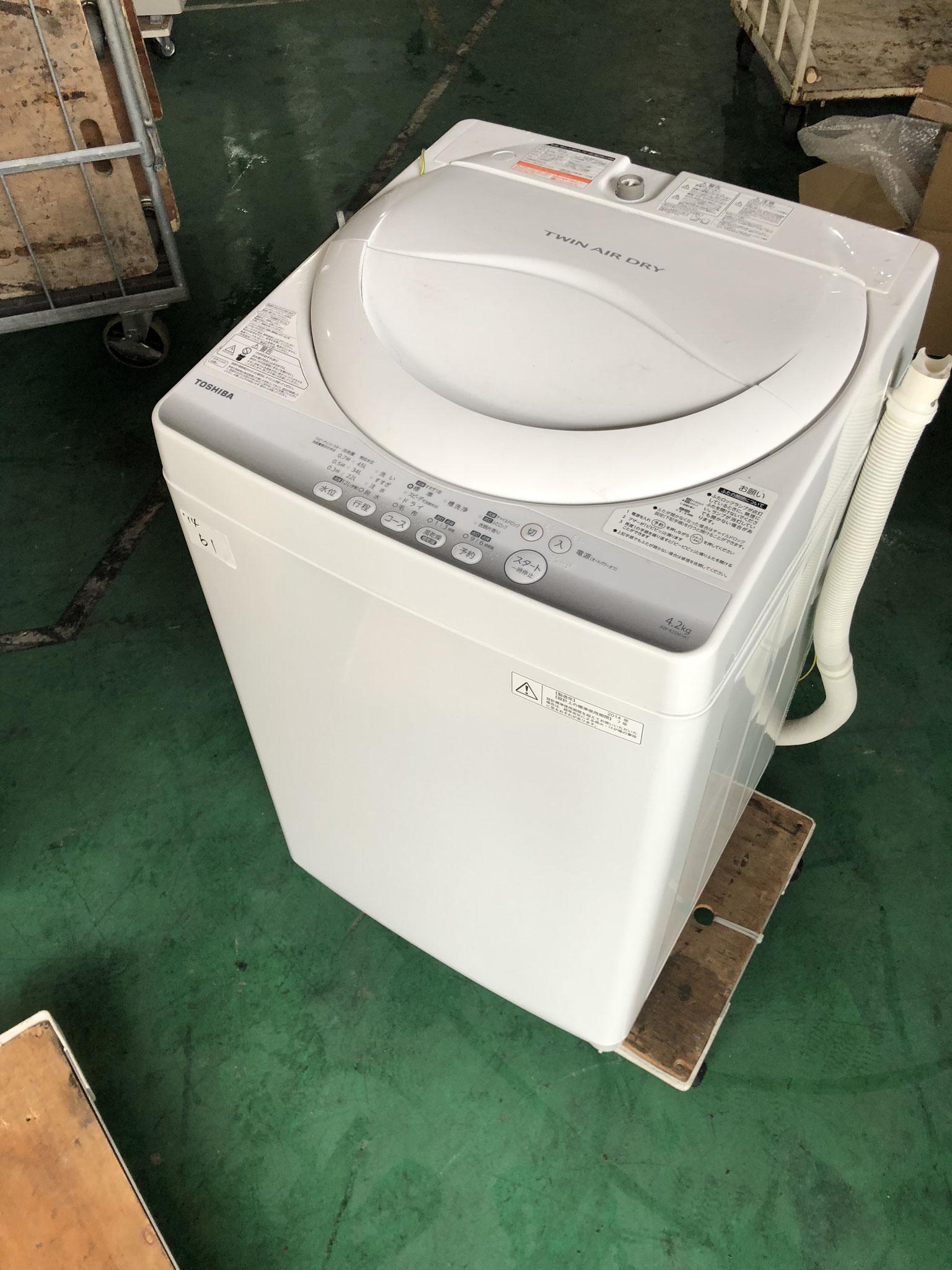 TOSHIBA洗濯機