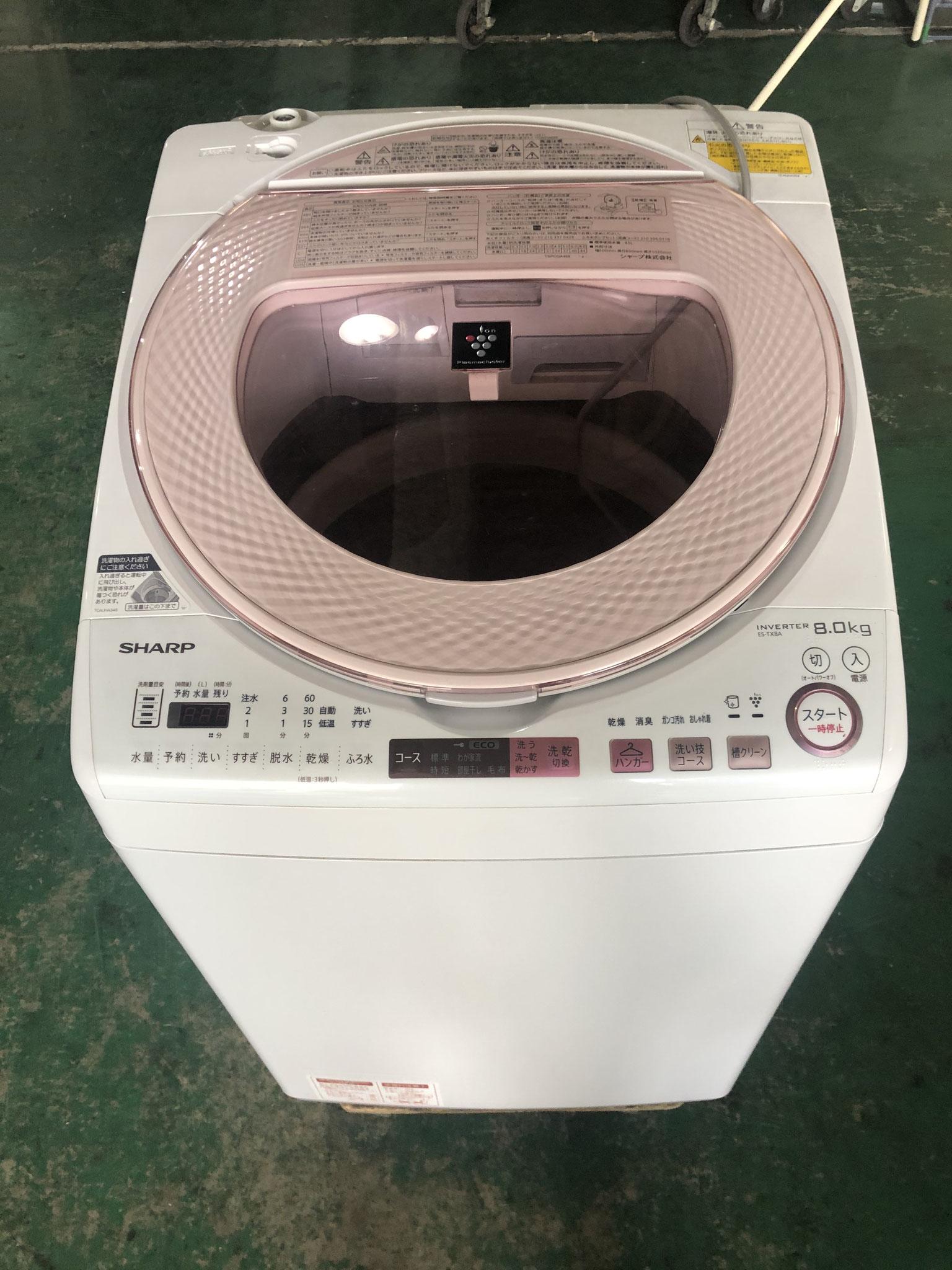 シャープの洗濯機