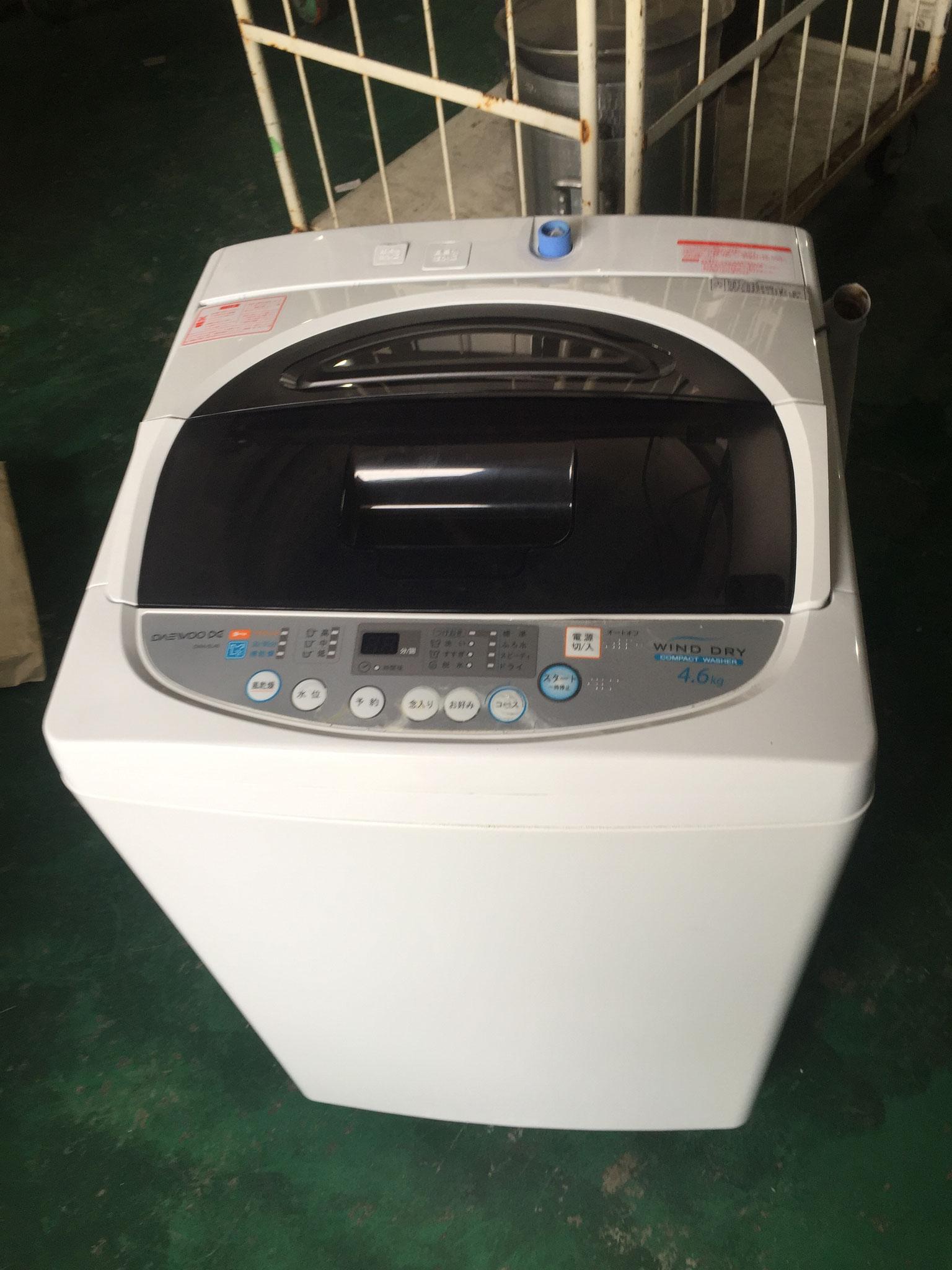 ダエウー洗濯機