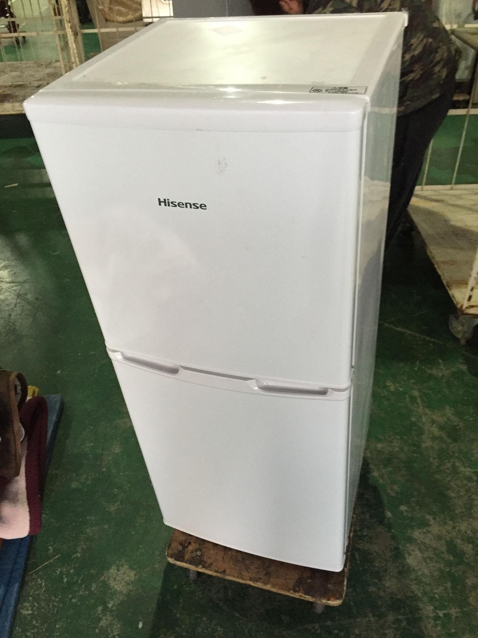Hisense2ドア冷蔵庫