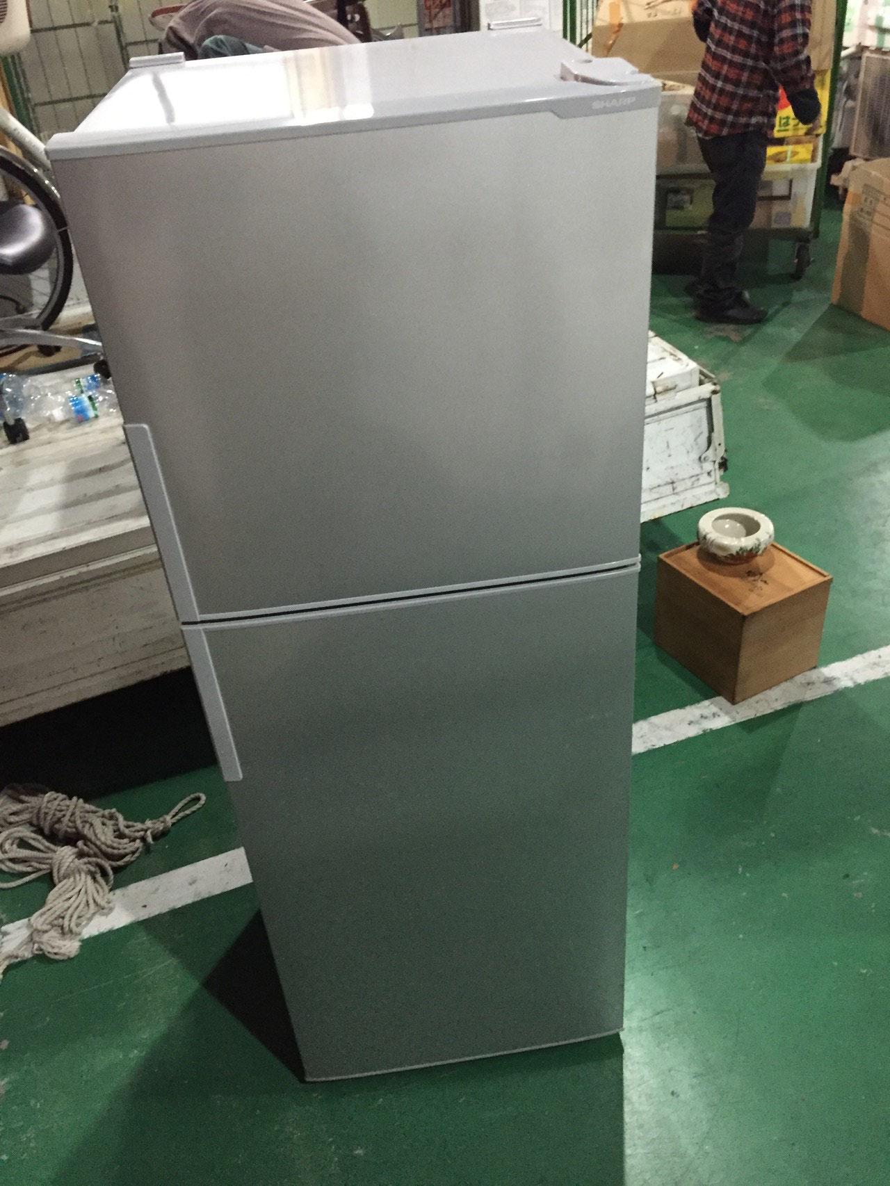 シャープ2ドア冷蔵庫13年製
