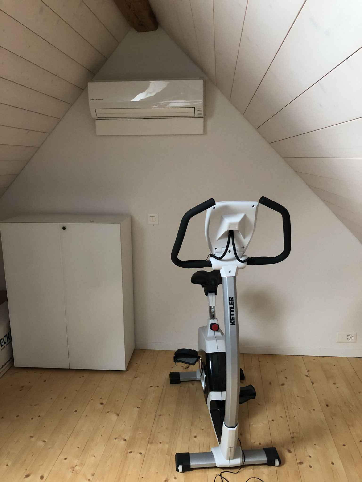 Klimaanlage Fitnessraum