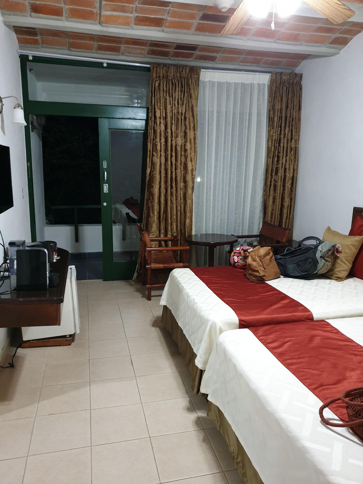 Zimmer im Hotel Moka