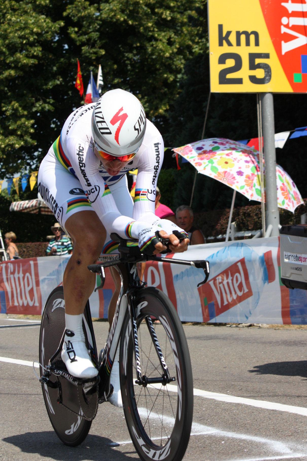 Tony Martin - Vainqueur de ce contre la montre (33 kms)