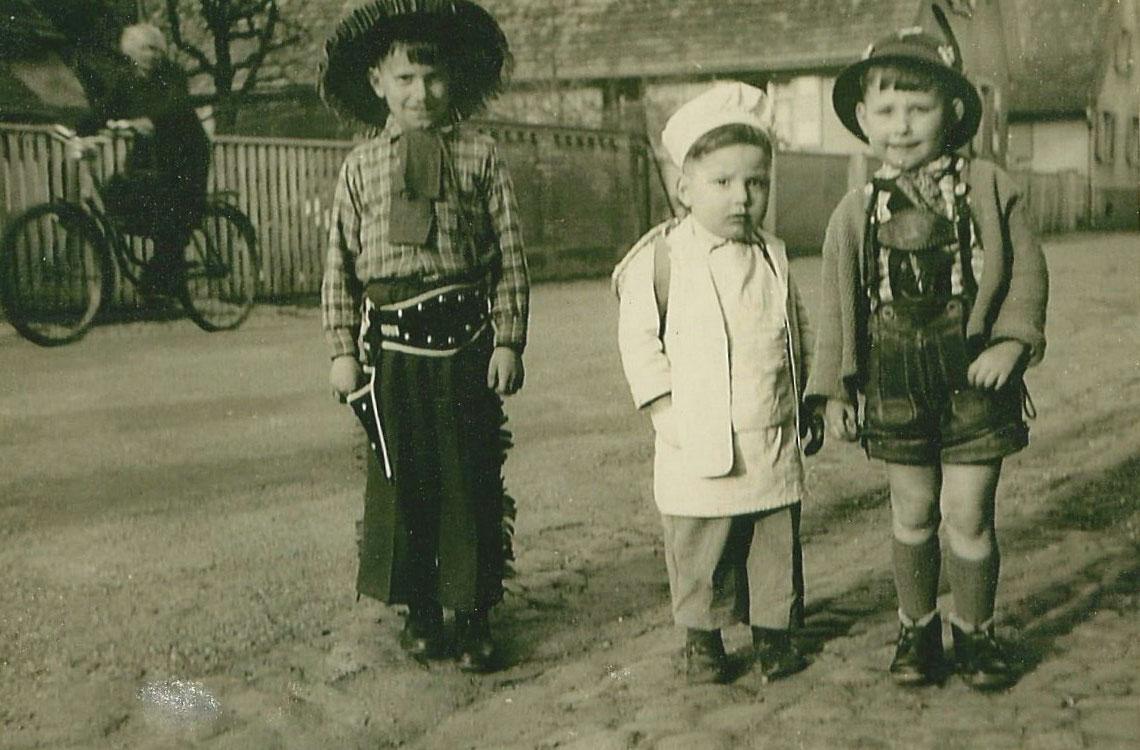 Gerhard, Rainer und Günther Fritz
