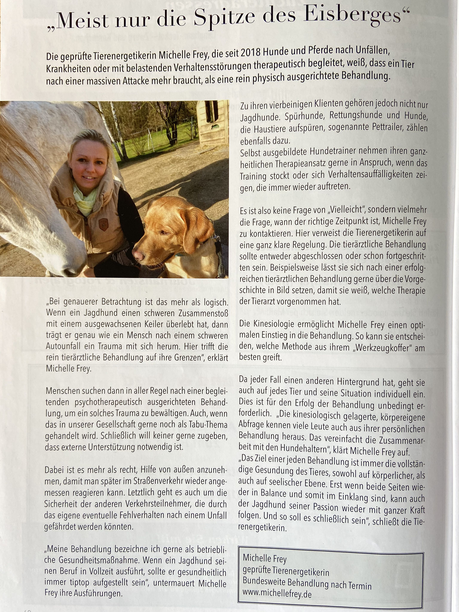 Hund und Jagd Ausgabe August 2020