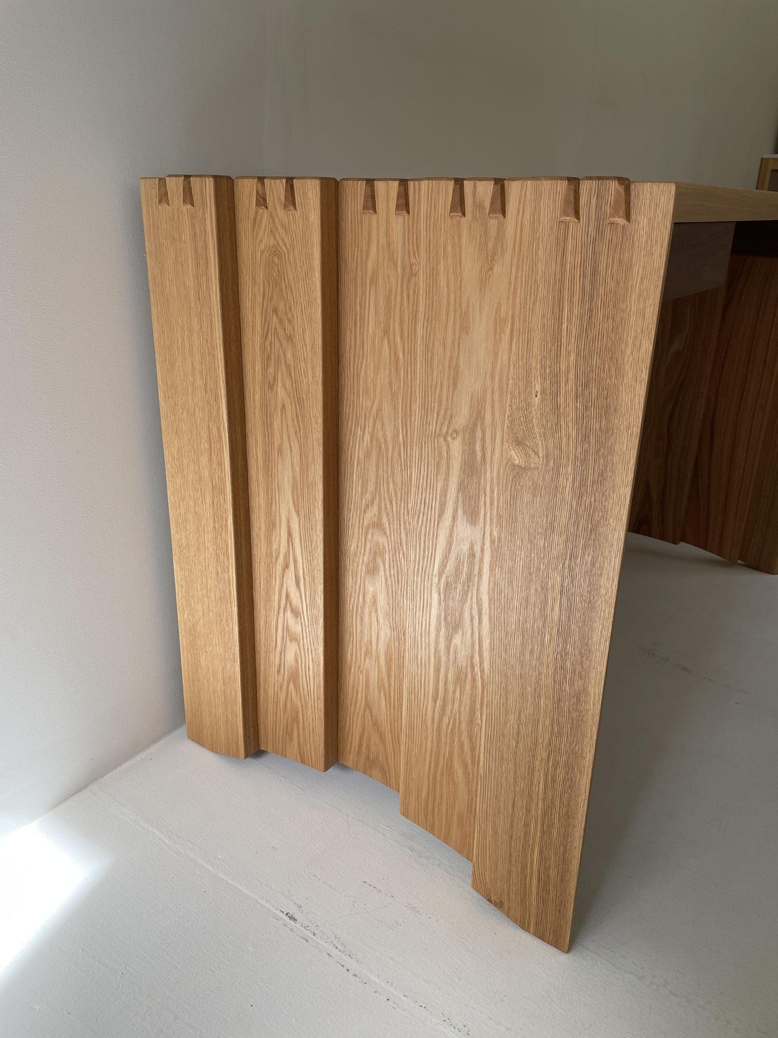 ワークテーブル。家具工房ZEROSSOのオーダーメイド家具。