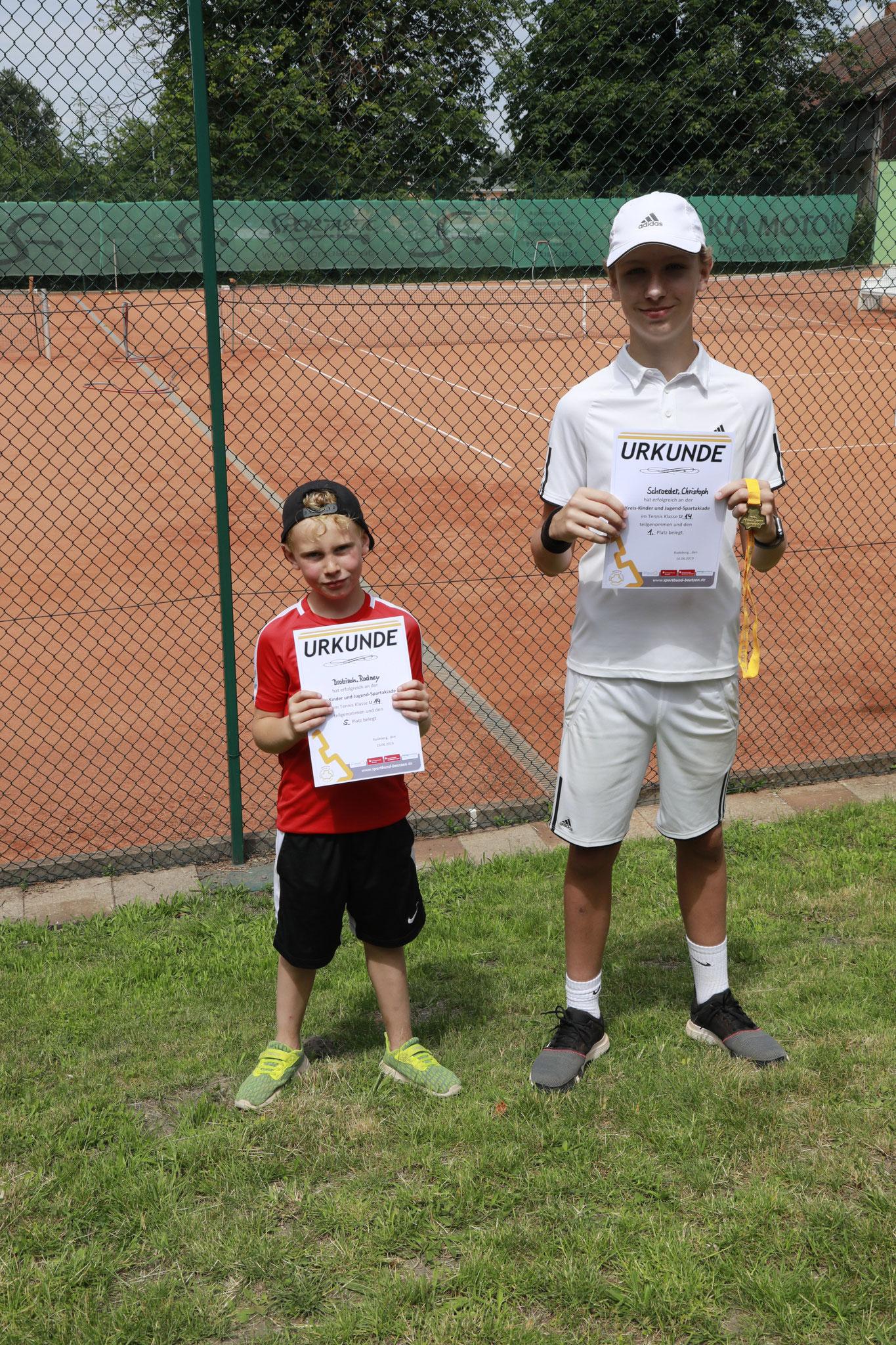 Den 1. Platz belegte Christoph Schroeder, den 5. Platz Rodney Drobisch
