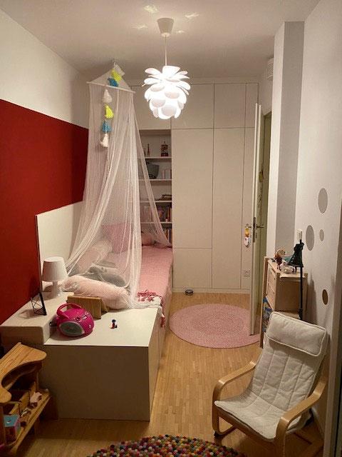 maßgefertigte Einbauten im Kinderzimmer