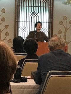 鈴鹿千代乃代表の出版記念講演