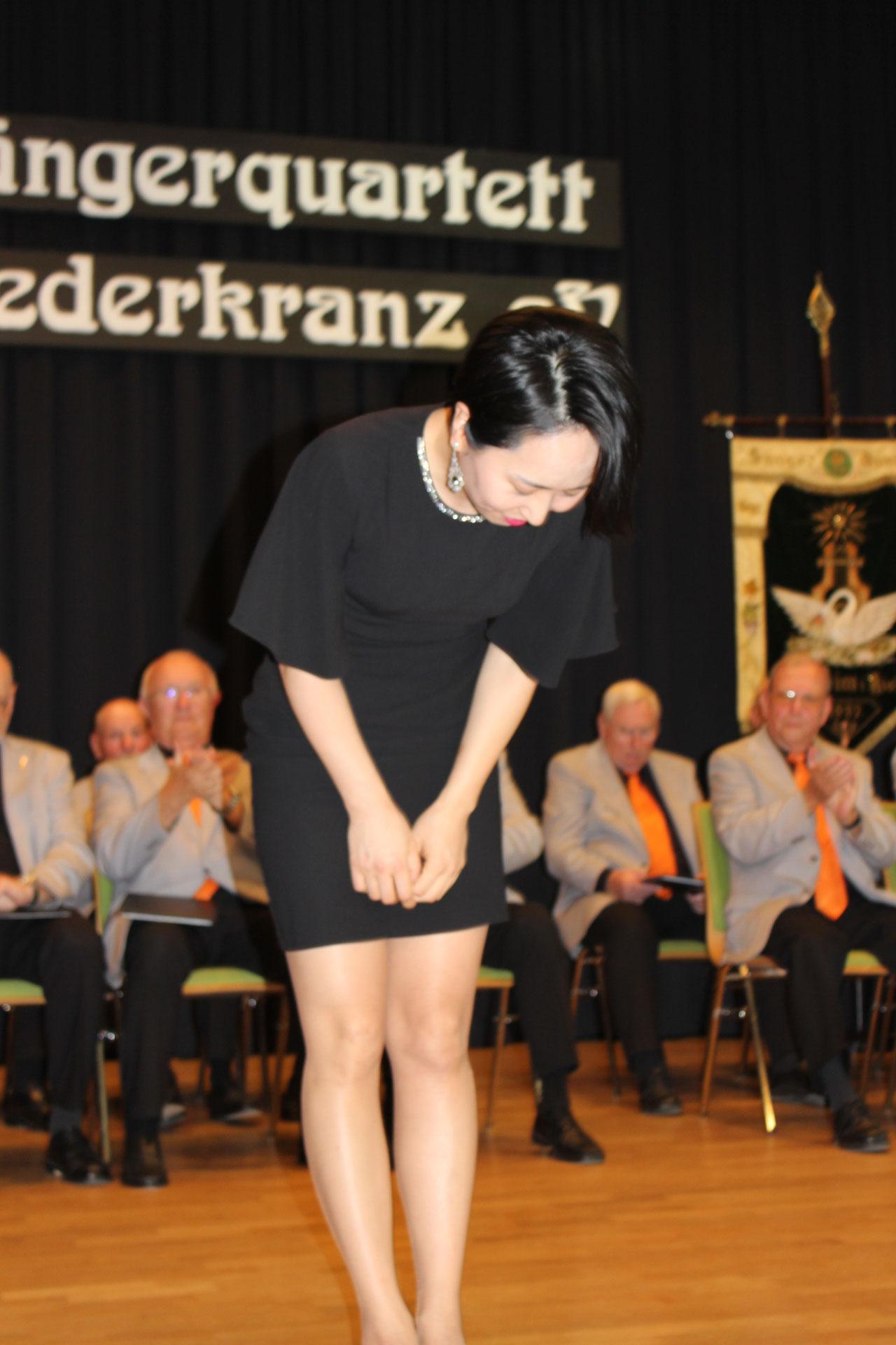 Pianistin Ju-Hee Oh von der Musikschule Lampertheim