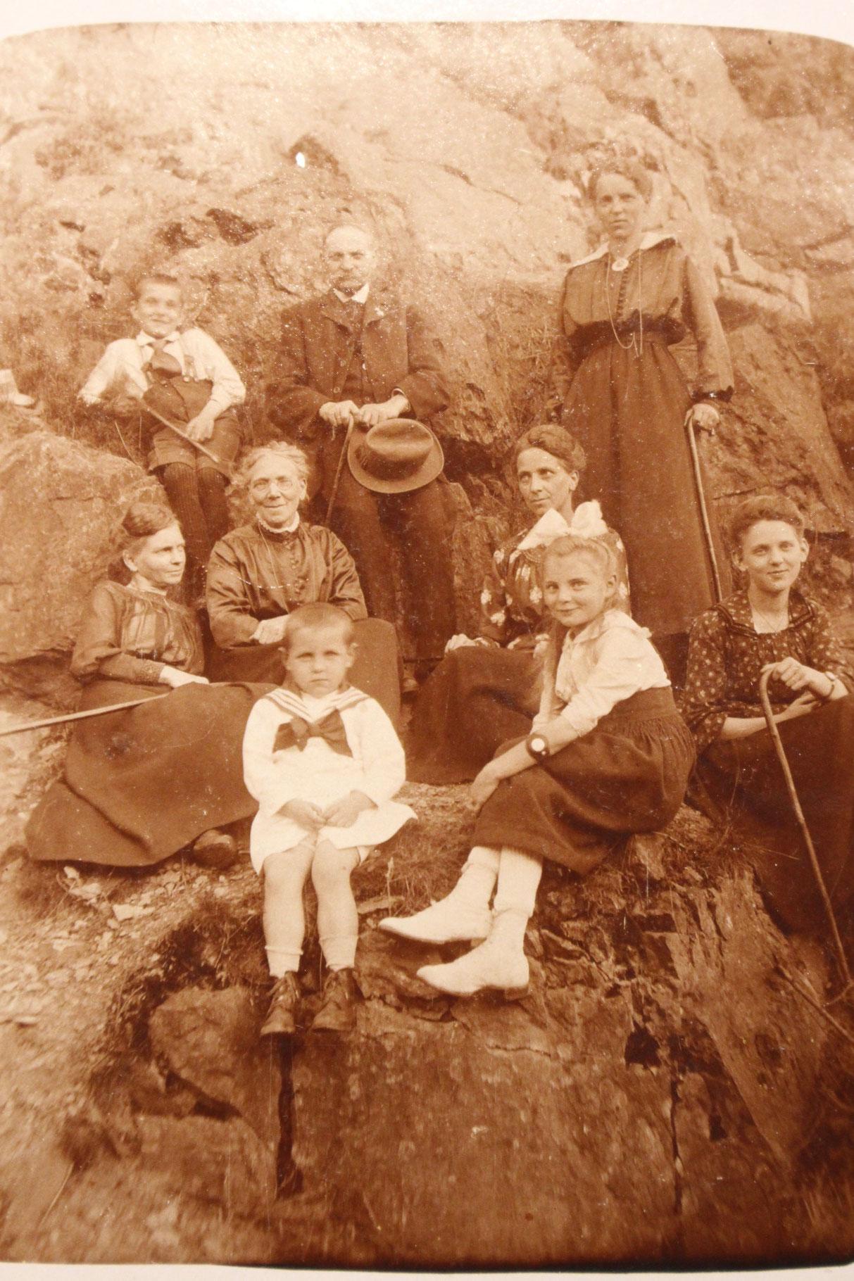 Kurgäste Sommer 1917