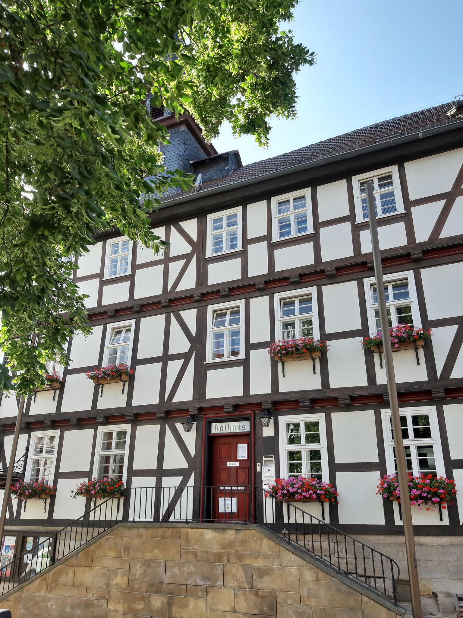 Das Rathaus in Bad Sooden-Allendorf
