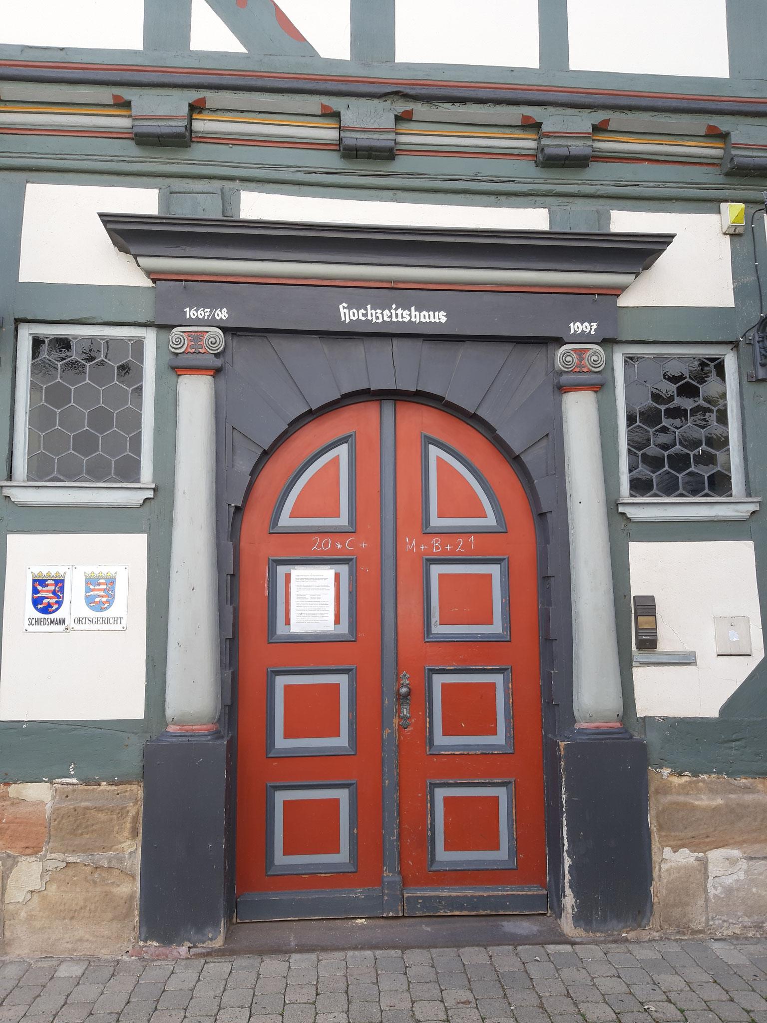 Das alte Hochzeitshaus in Bad Sooden-Allendorf