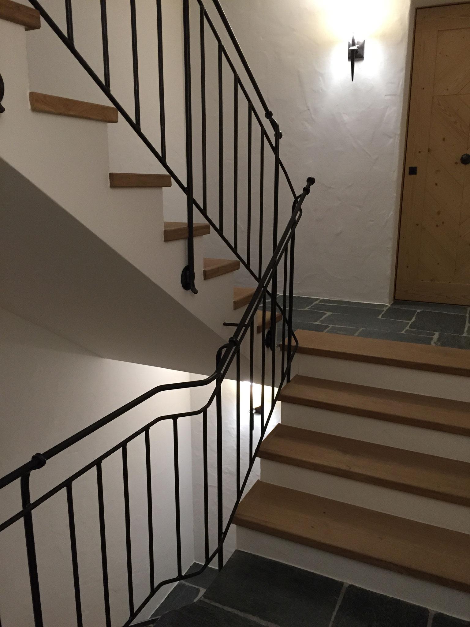 Geschmiedetes Treppengeländer