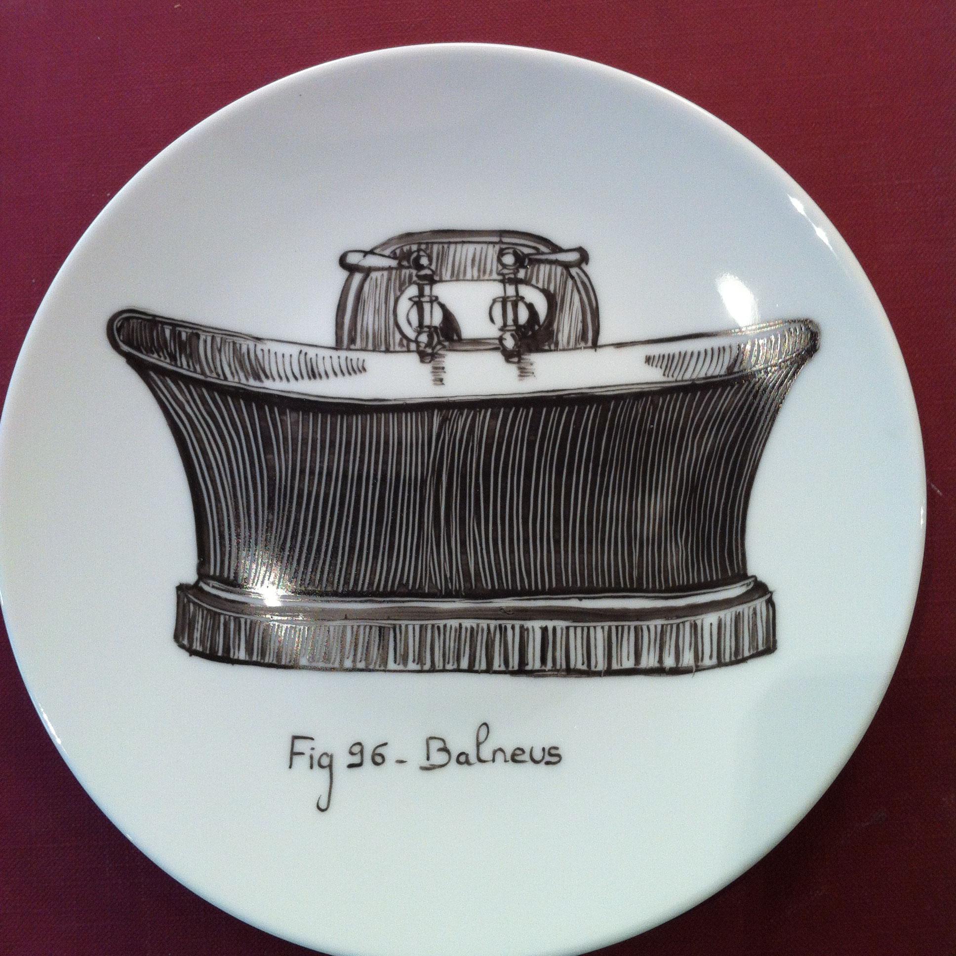 Assiette D 19 cm