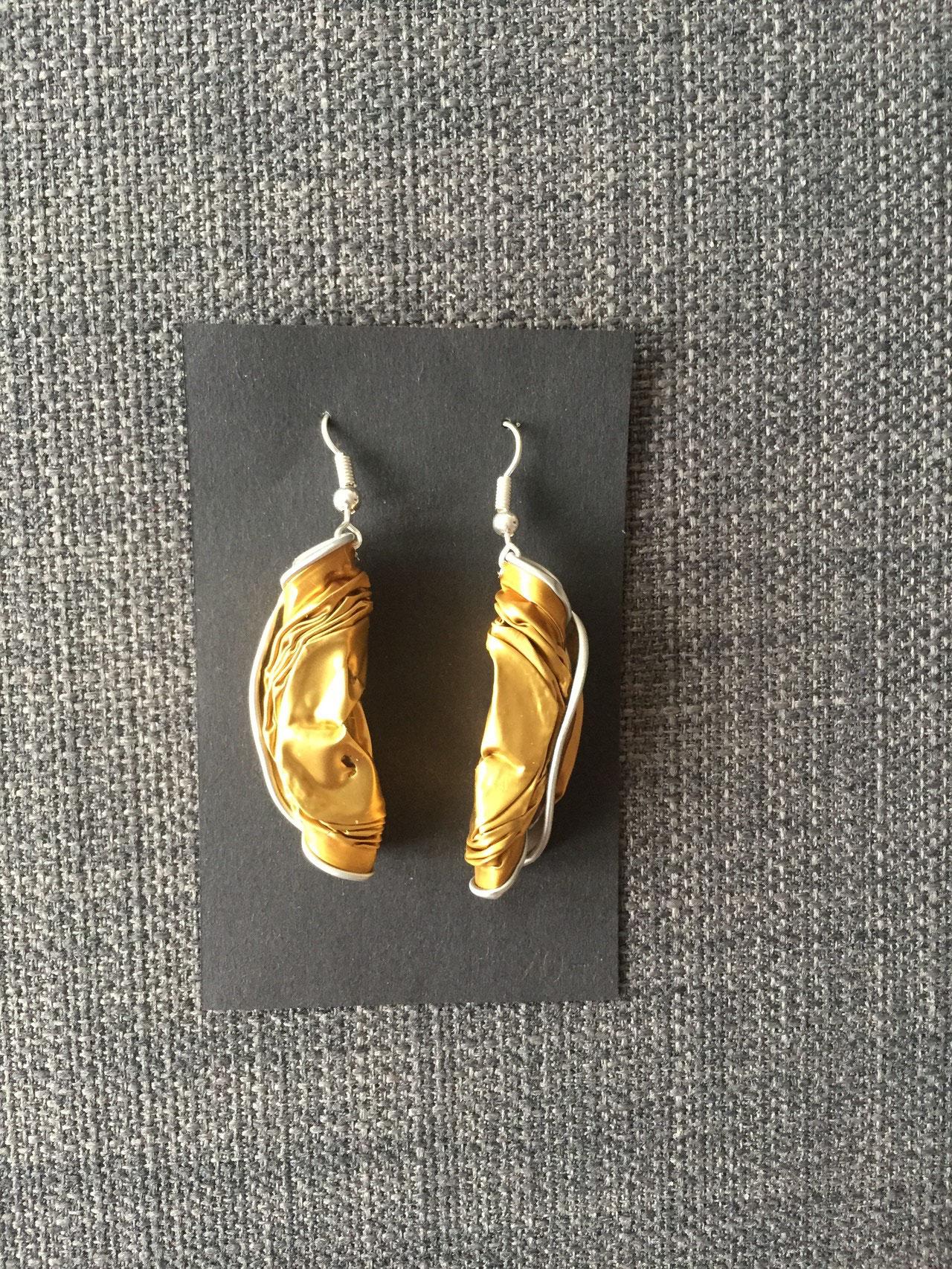 Gedrehte Ohrringe (gold)