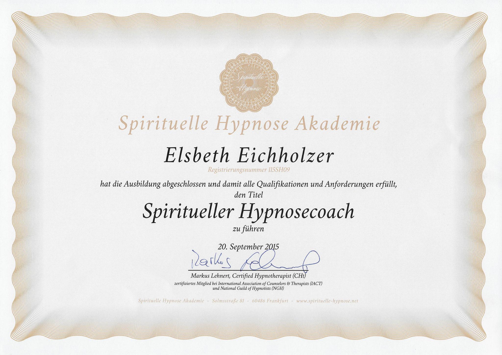 Spiritueller Hypnosescoach