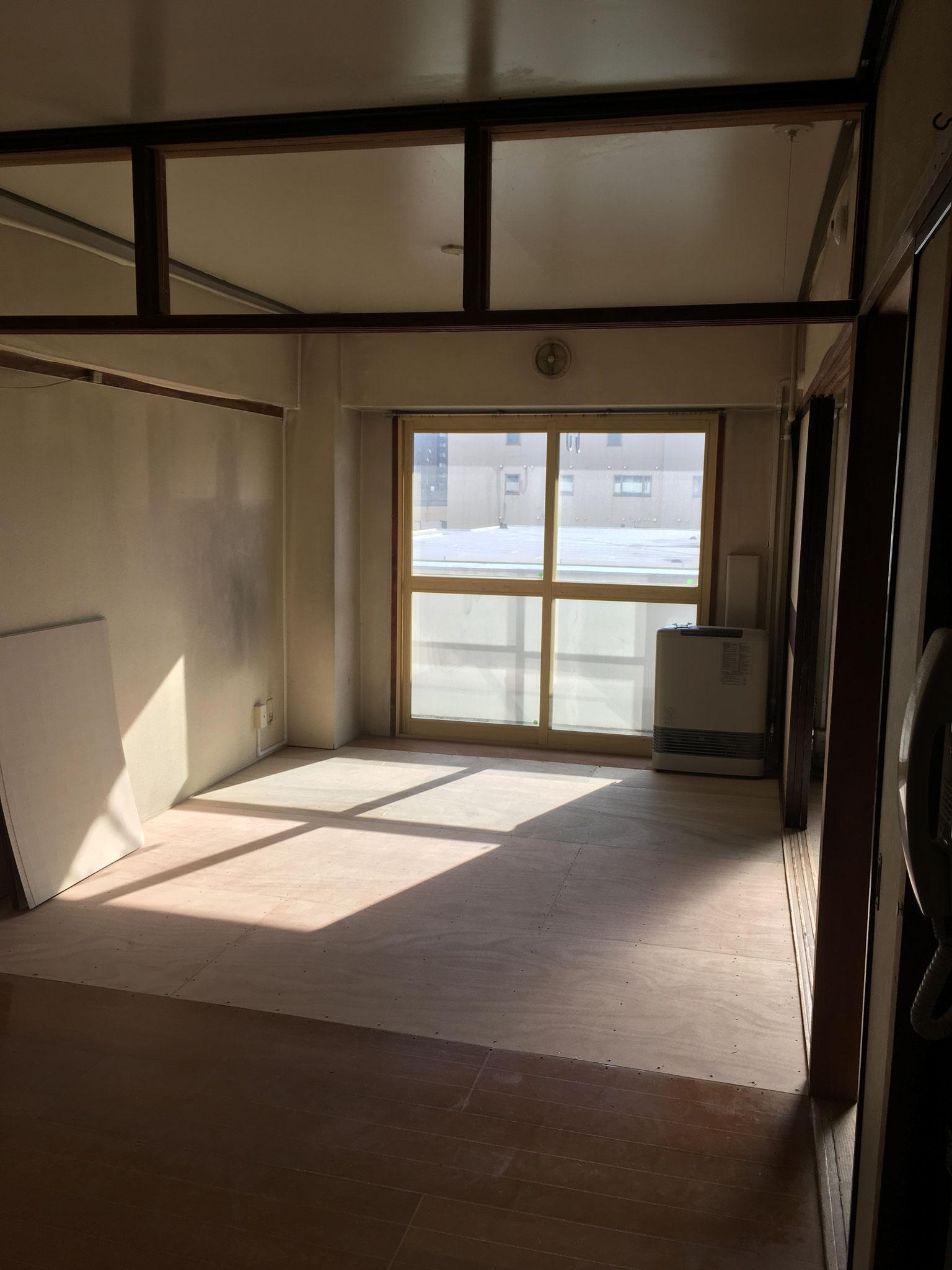 札幌で中古アパートのリノベーションをしました。