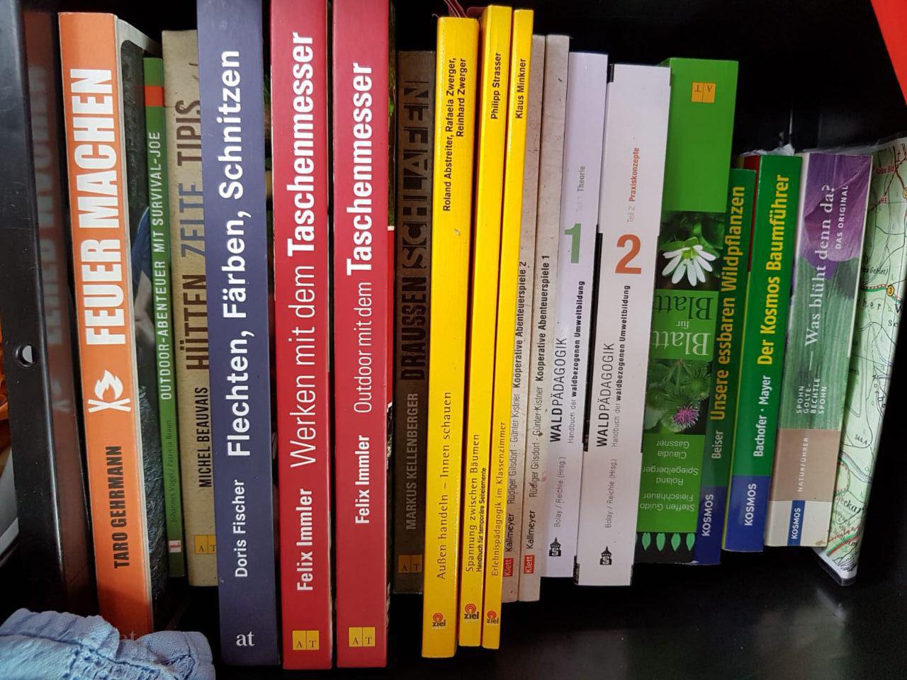 Blick in die Bücherkiste