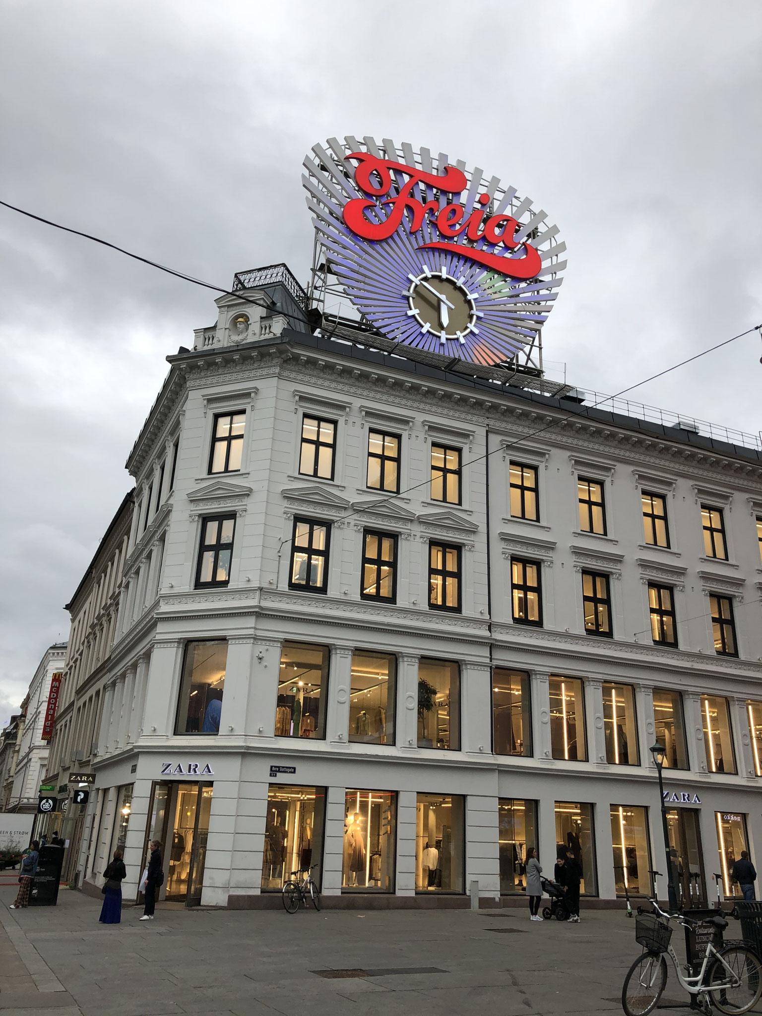 Kaufhäuser auf dem Karl Johans Gate