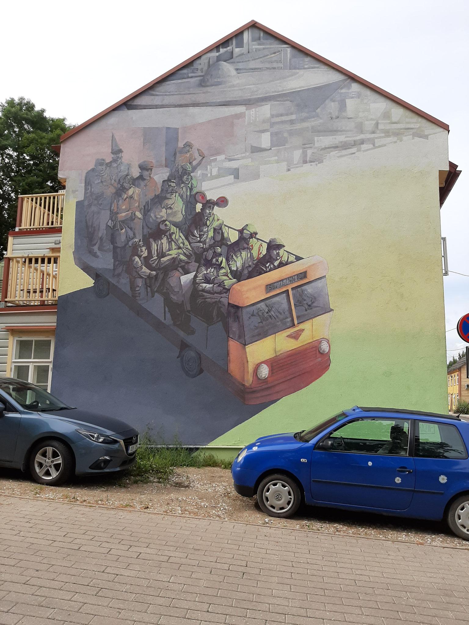 Grafitti in Tartu
