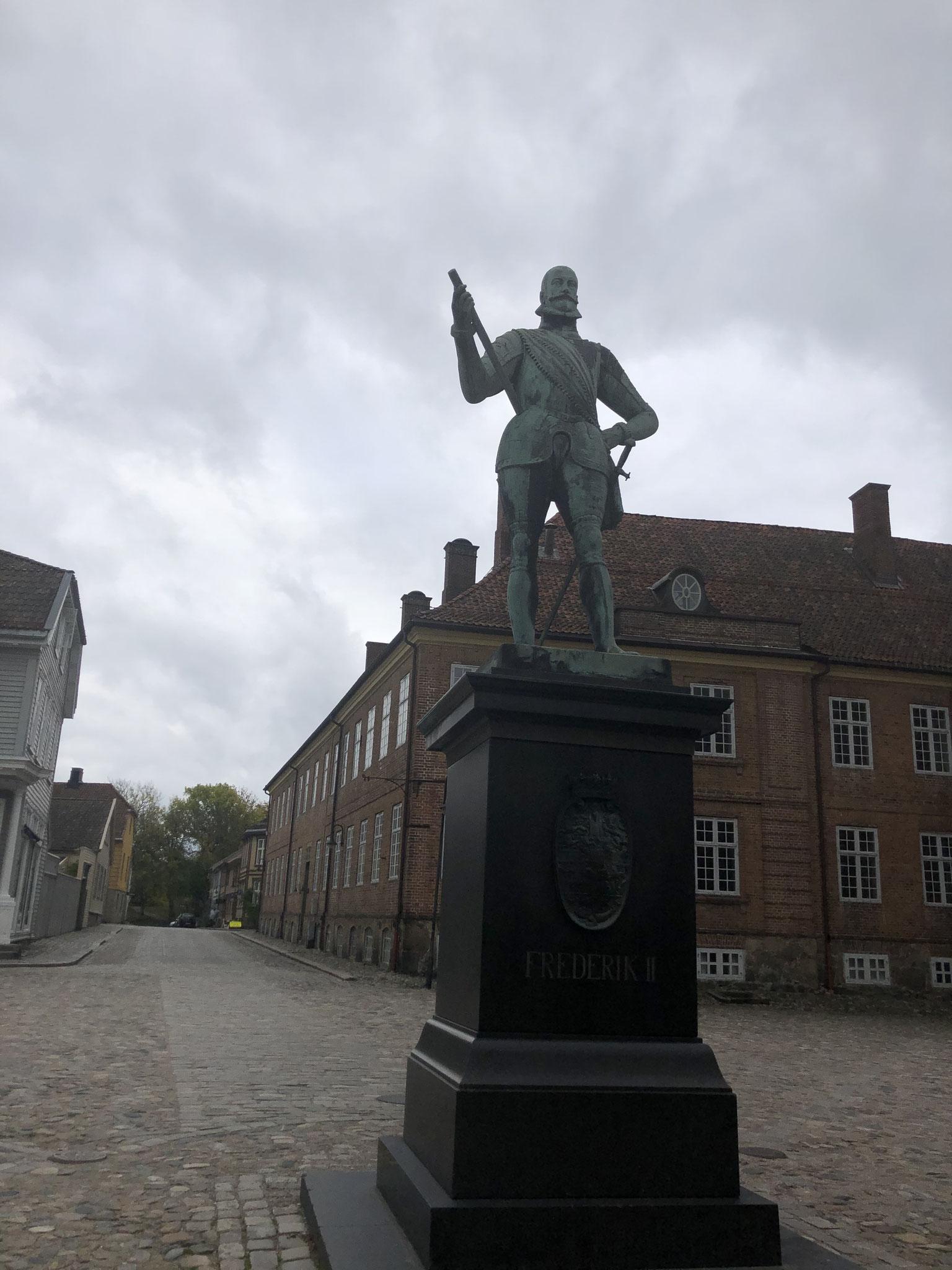 Statue in Fredrikstad