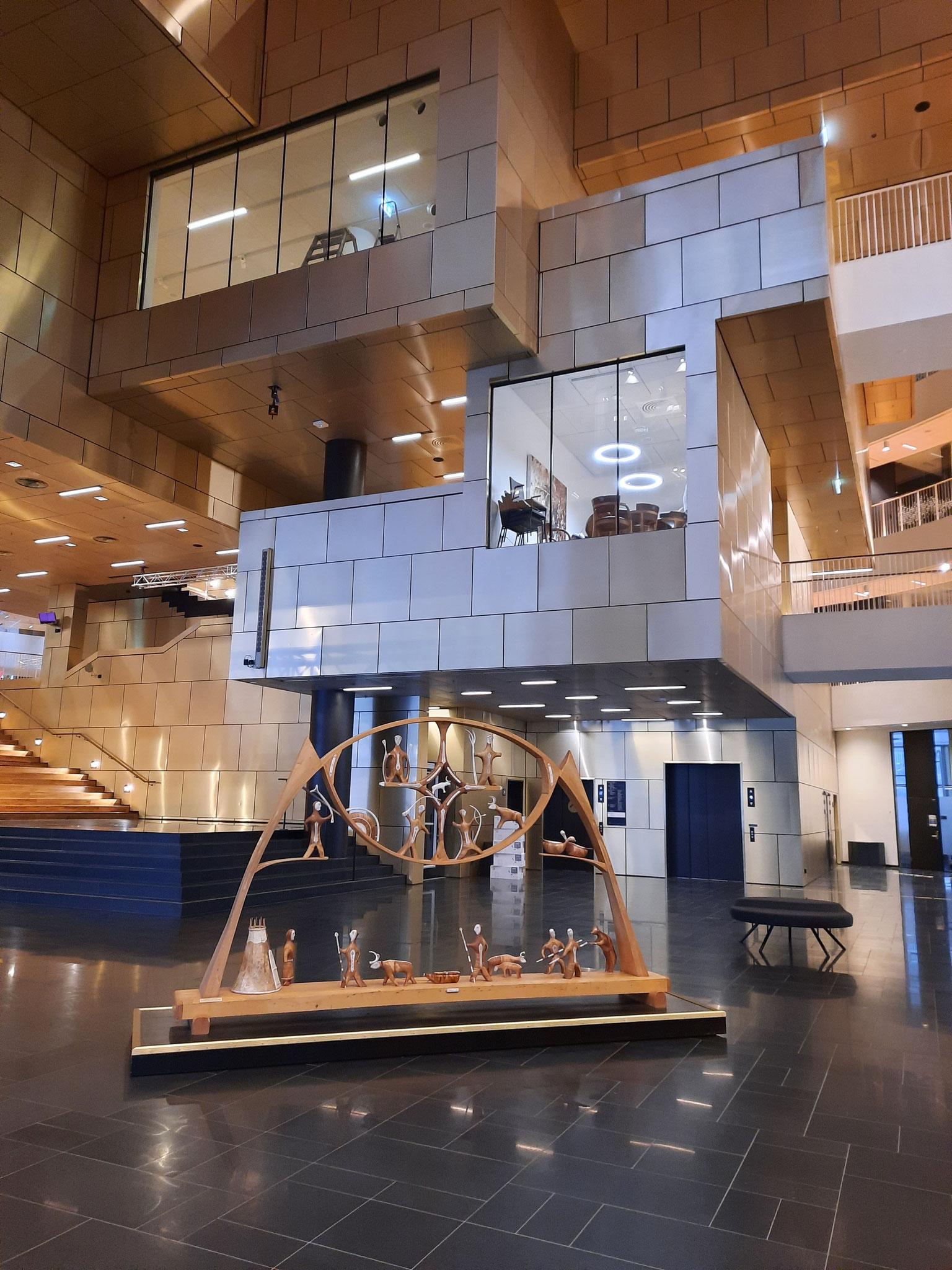 Das neue Rathaus Kirunas