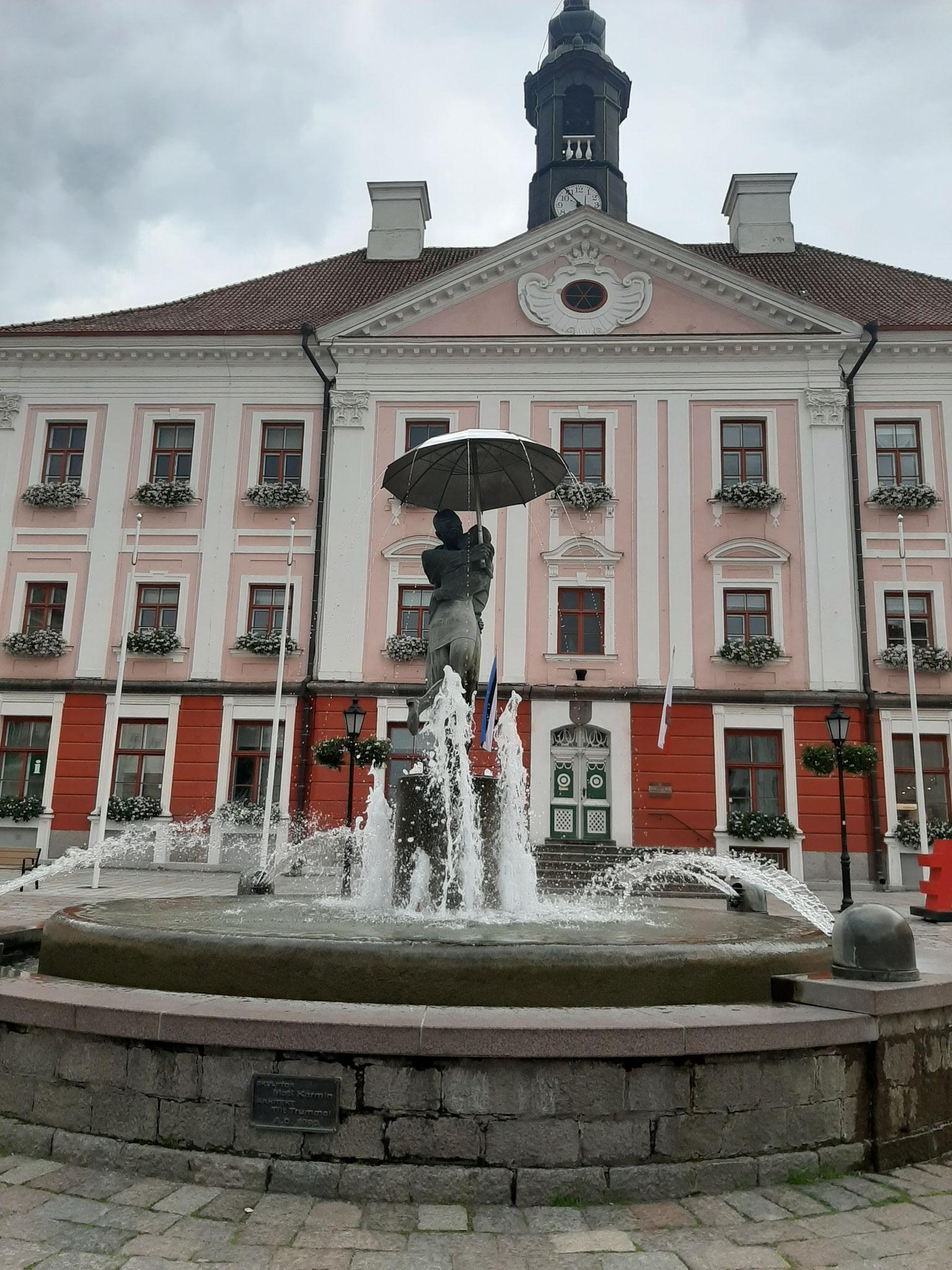Küssendes Pärchen  von Tartu