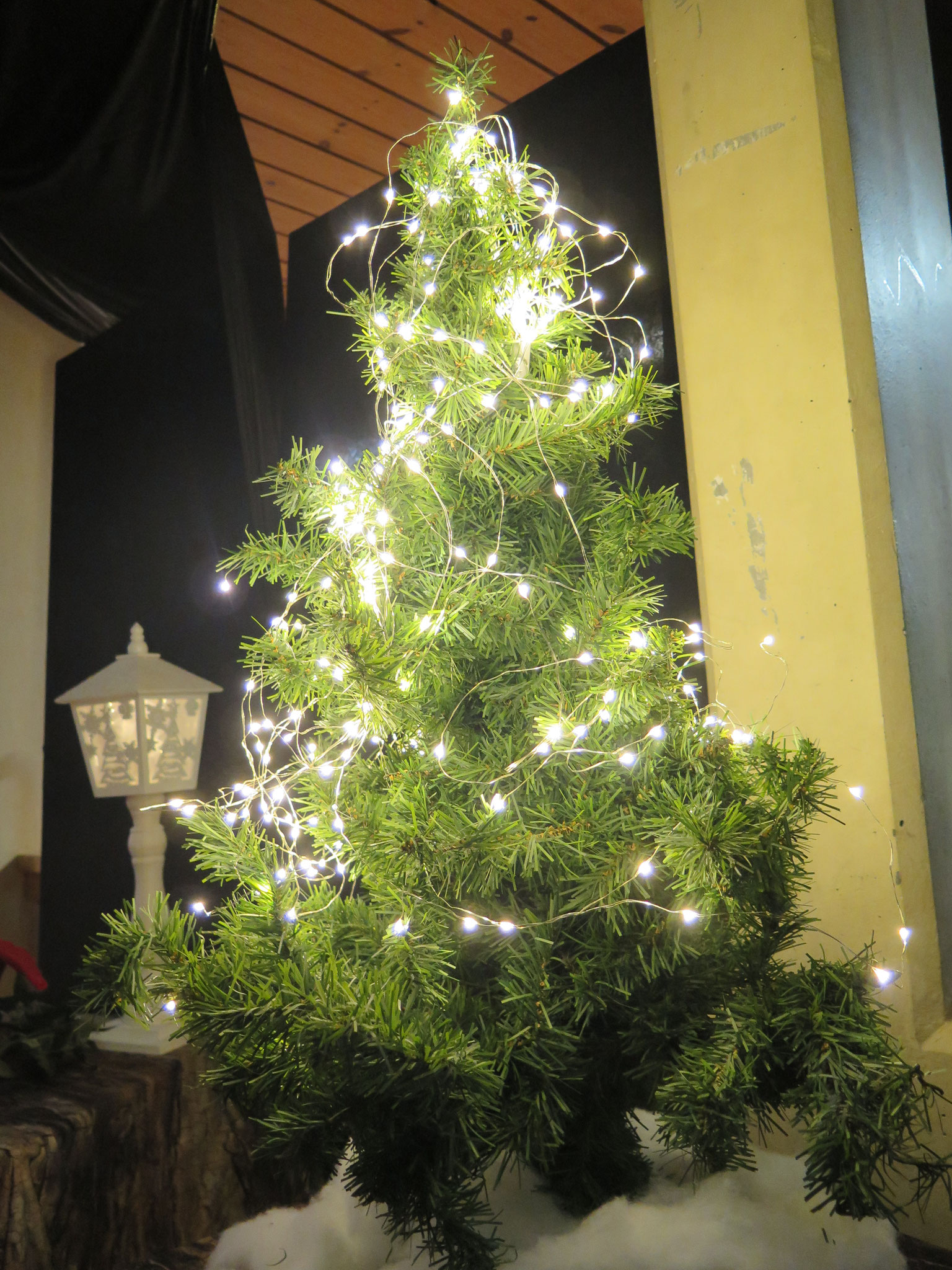 Der Weihnachtsbaum der Zwerge