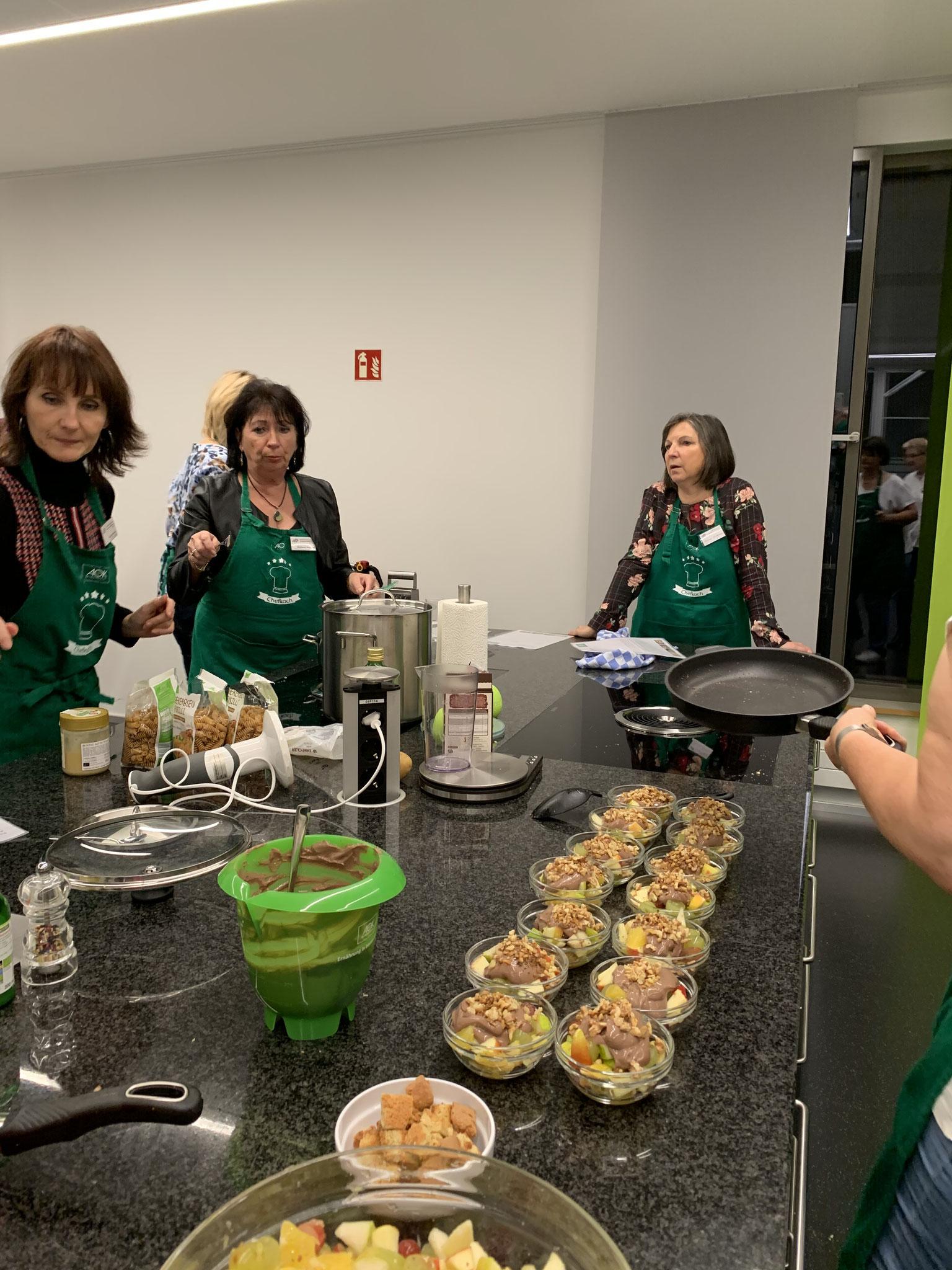 11-2019 Veggie, Vegan und Co. bei der AOK, Rastatt