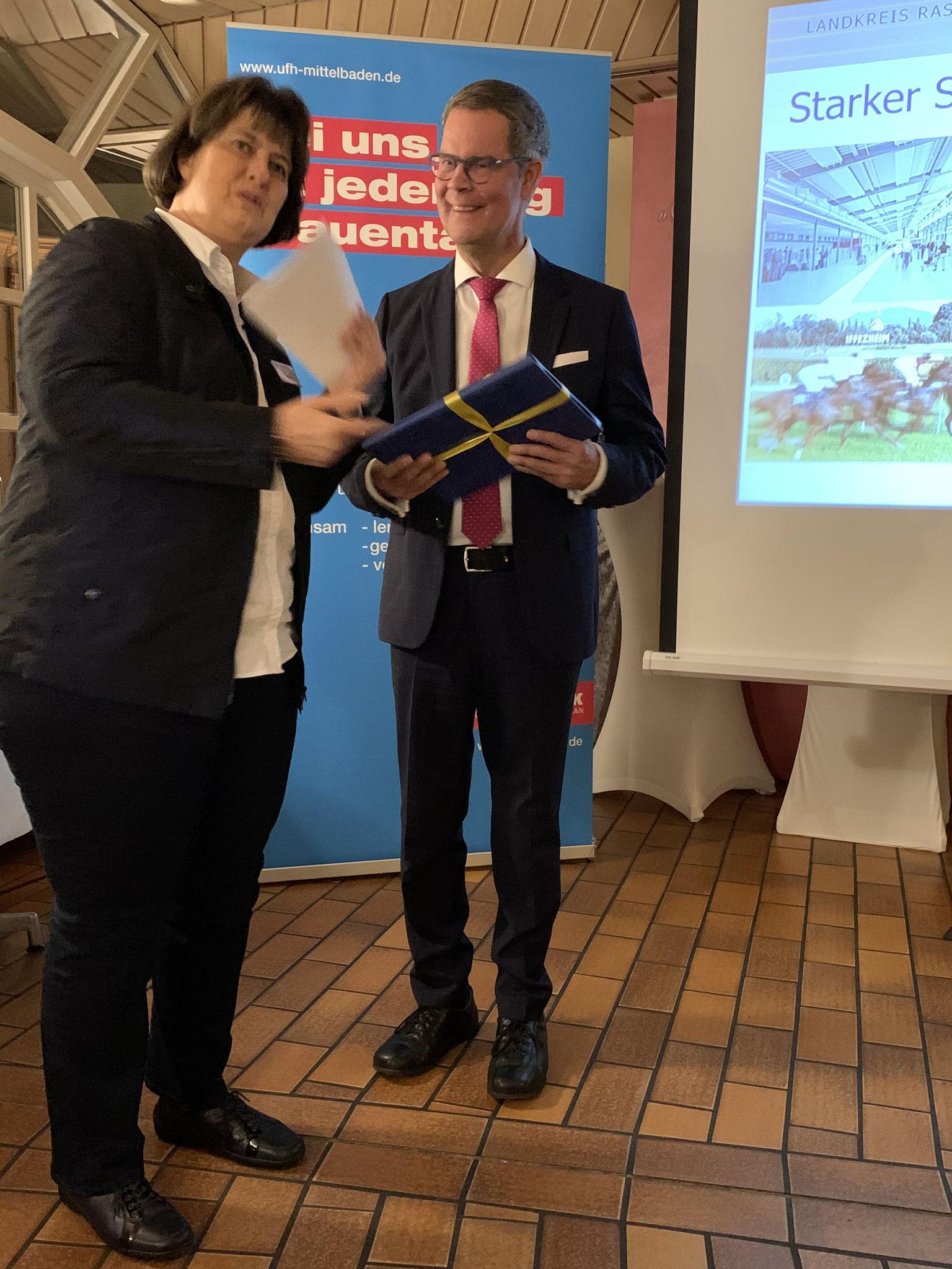 01-2020 Dank an Herrn Landrat Toni Huber für sein Kommen und Gastbeitrag