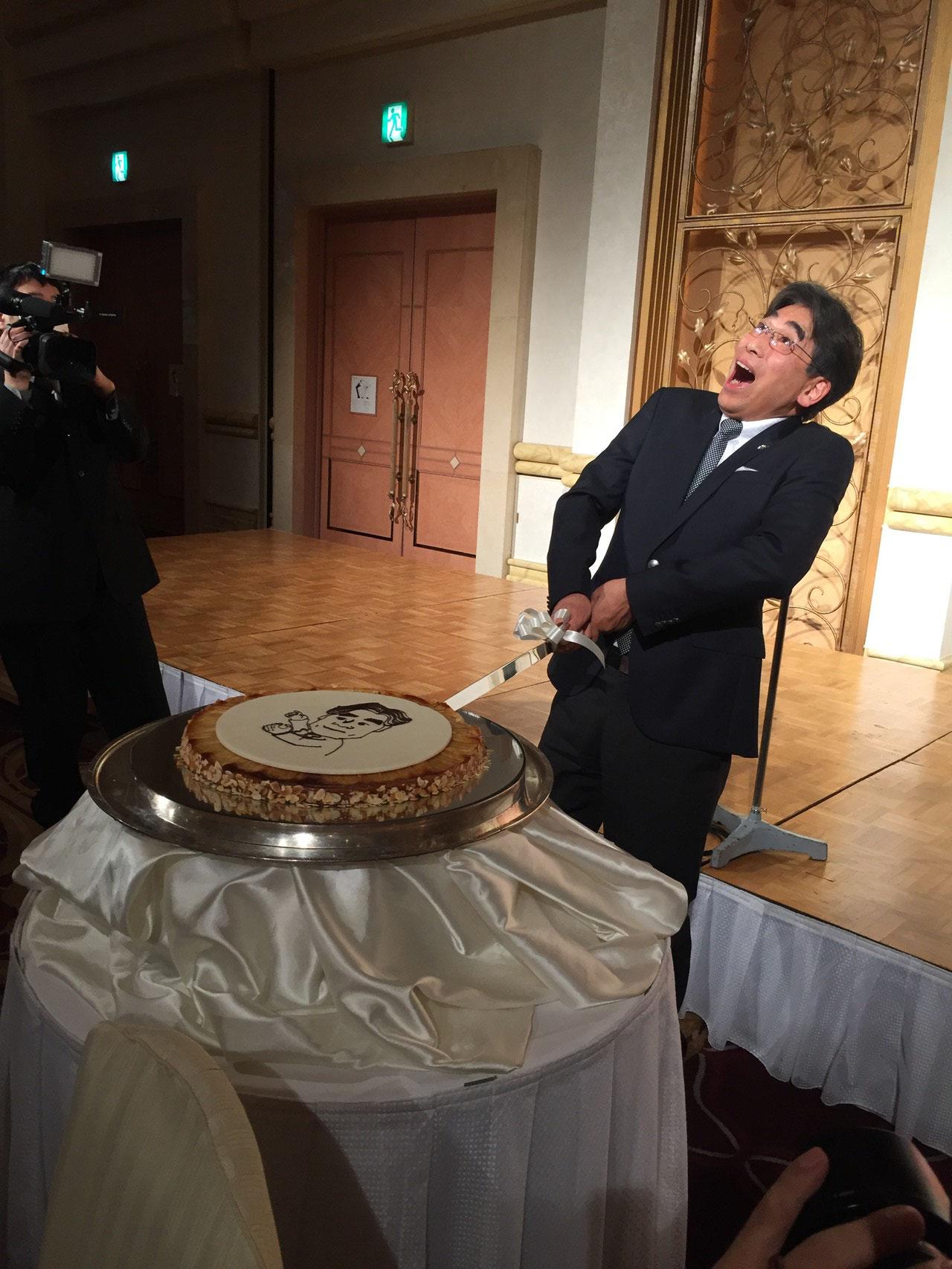ケーキ入刀?