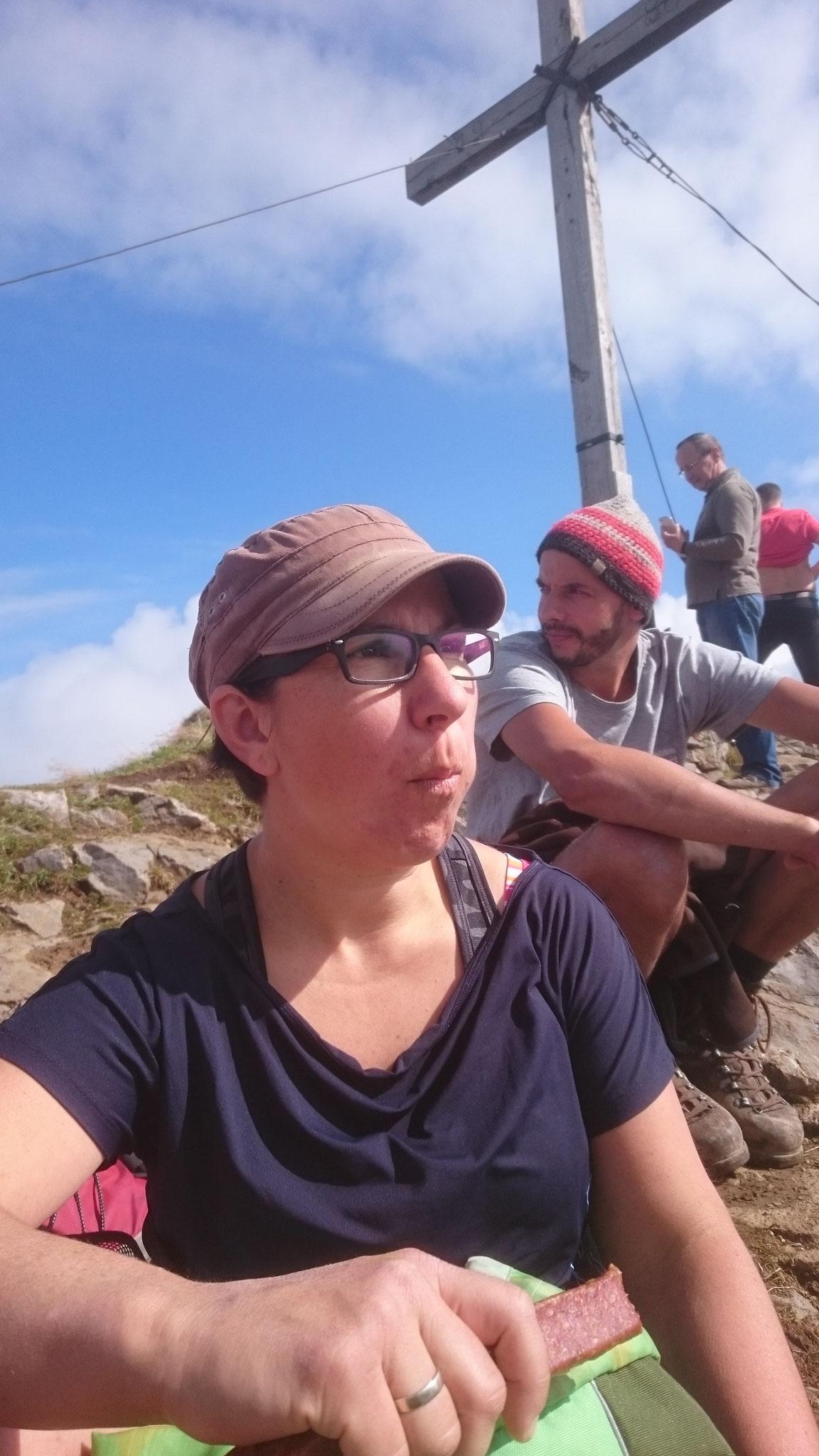 Gipfel Ifen. Immer auf der Suche nach guten Geschichten für meine Gäste
