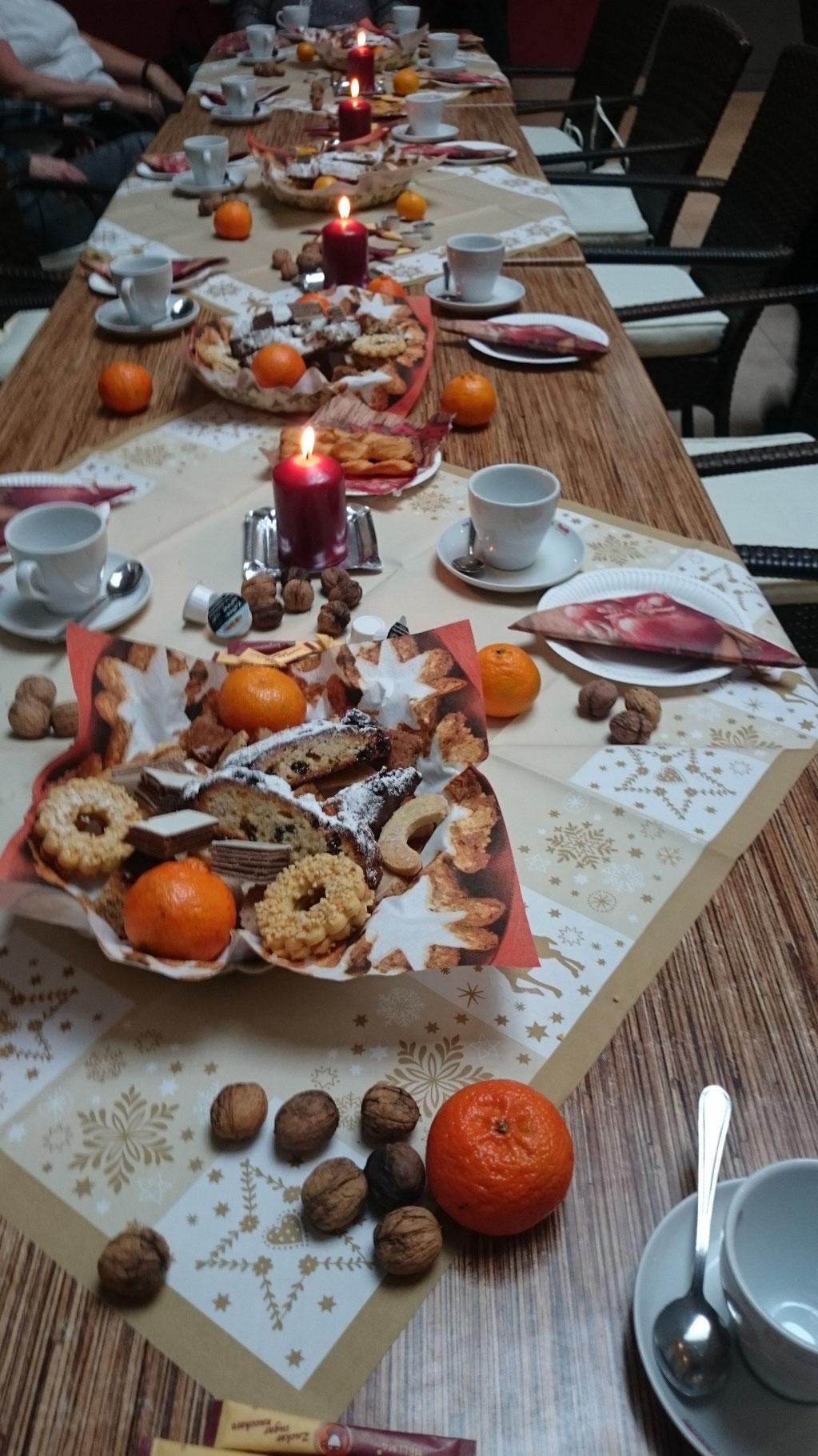Adventskaffee der Donnerstag Gruppen 2015