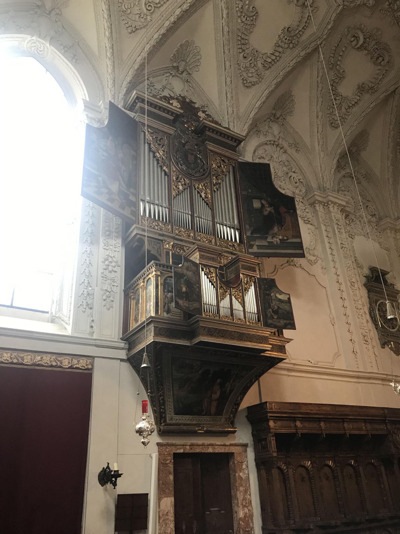 Ebert-Orgel 1558 in der Hofkirche Innsbruck