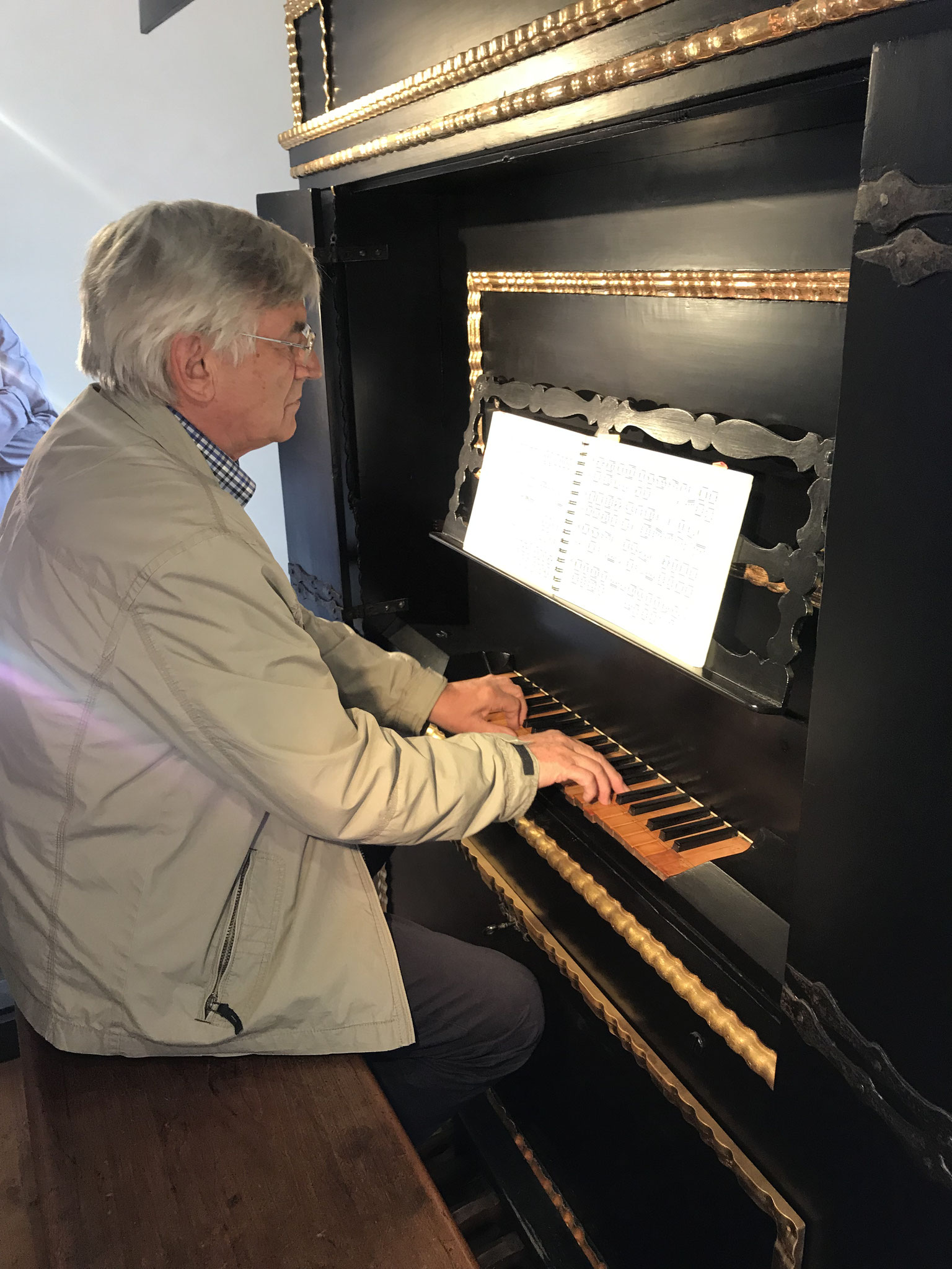 an der Hertz-Orgel