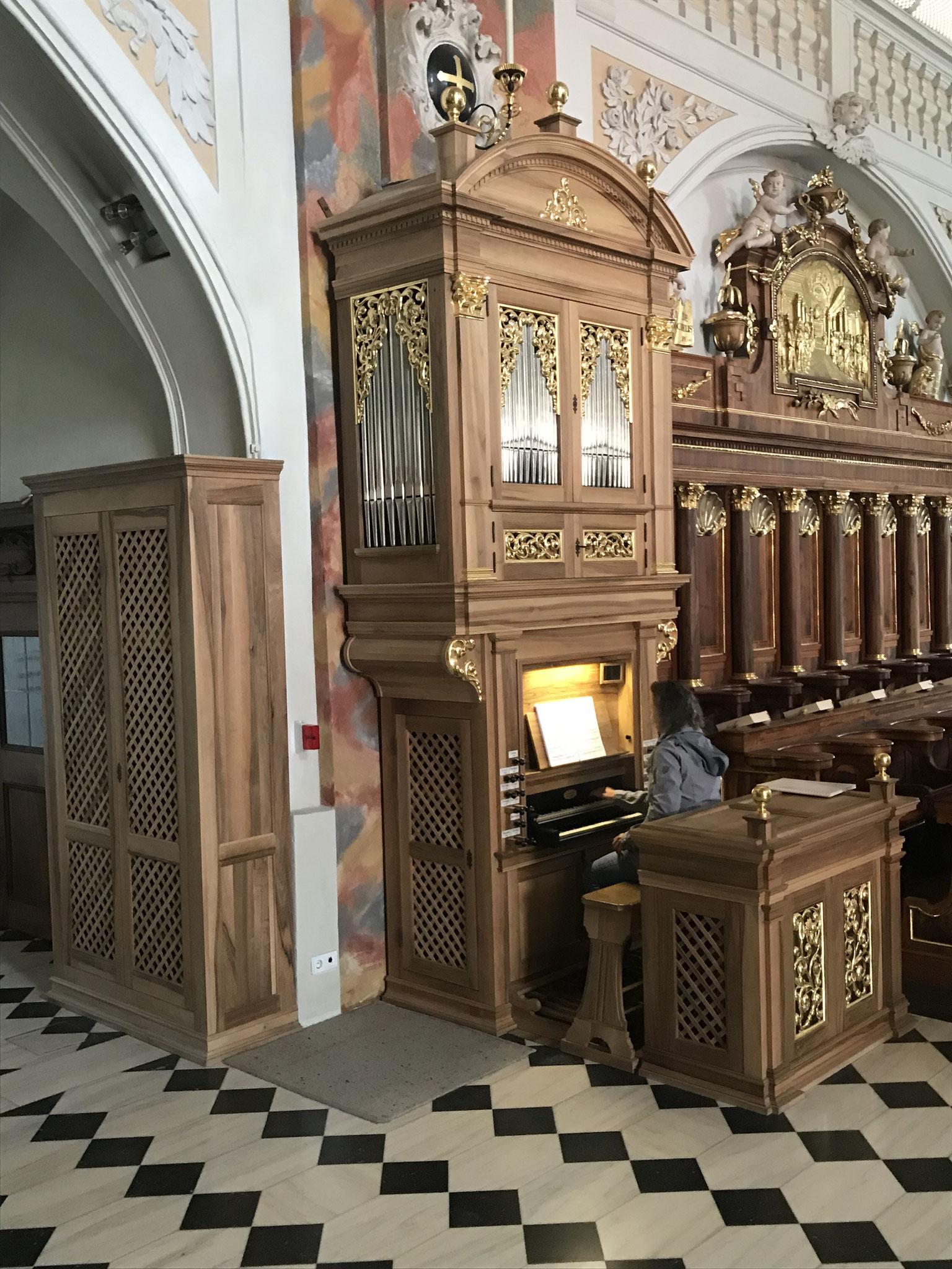 Chororgel in Wilten