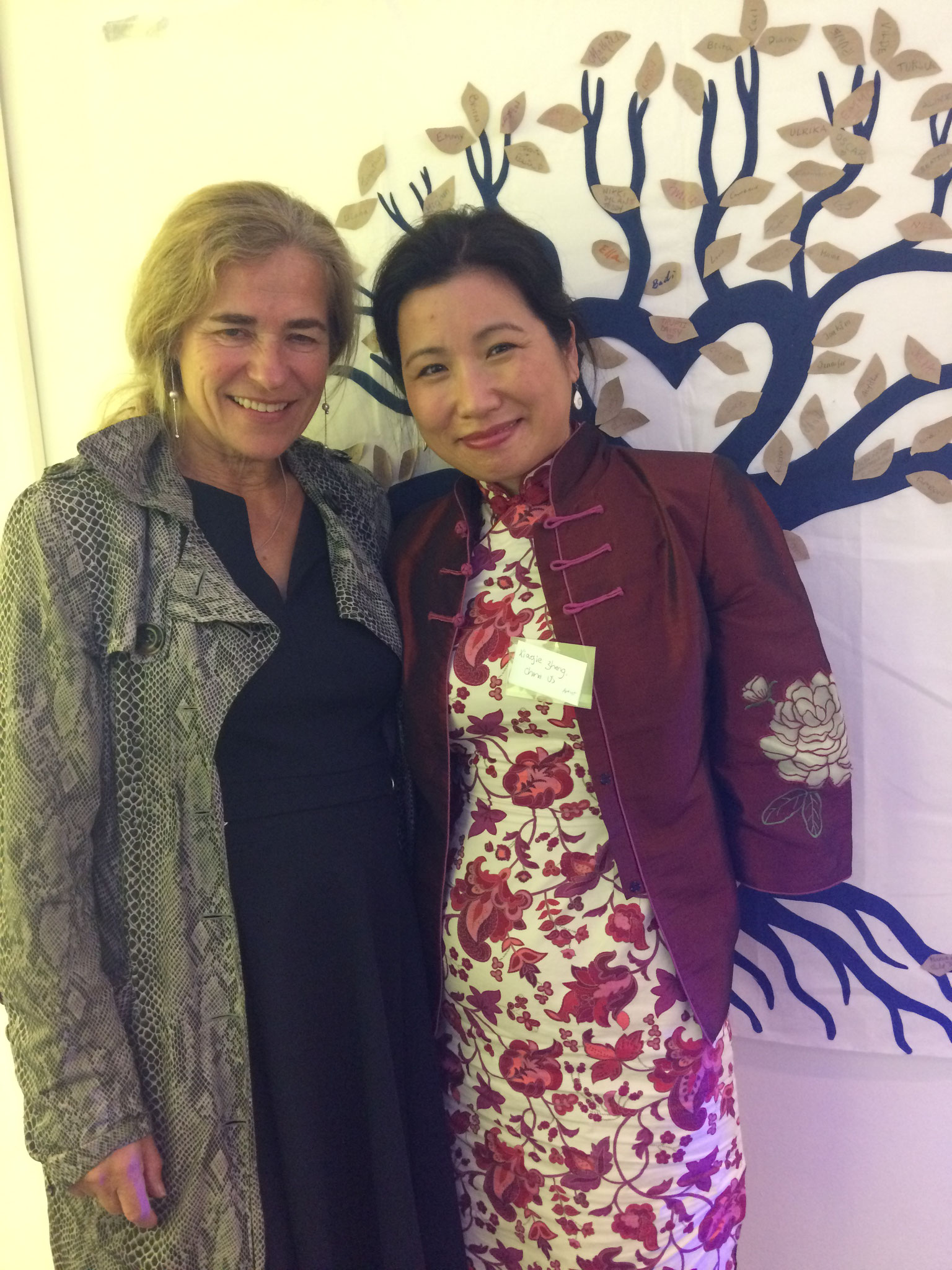 Dr. Sietska Djistra and Xiaojie Zheng at EAPAP 2018
