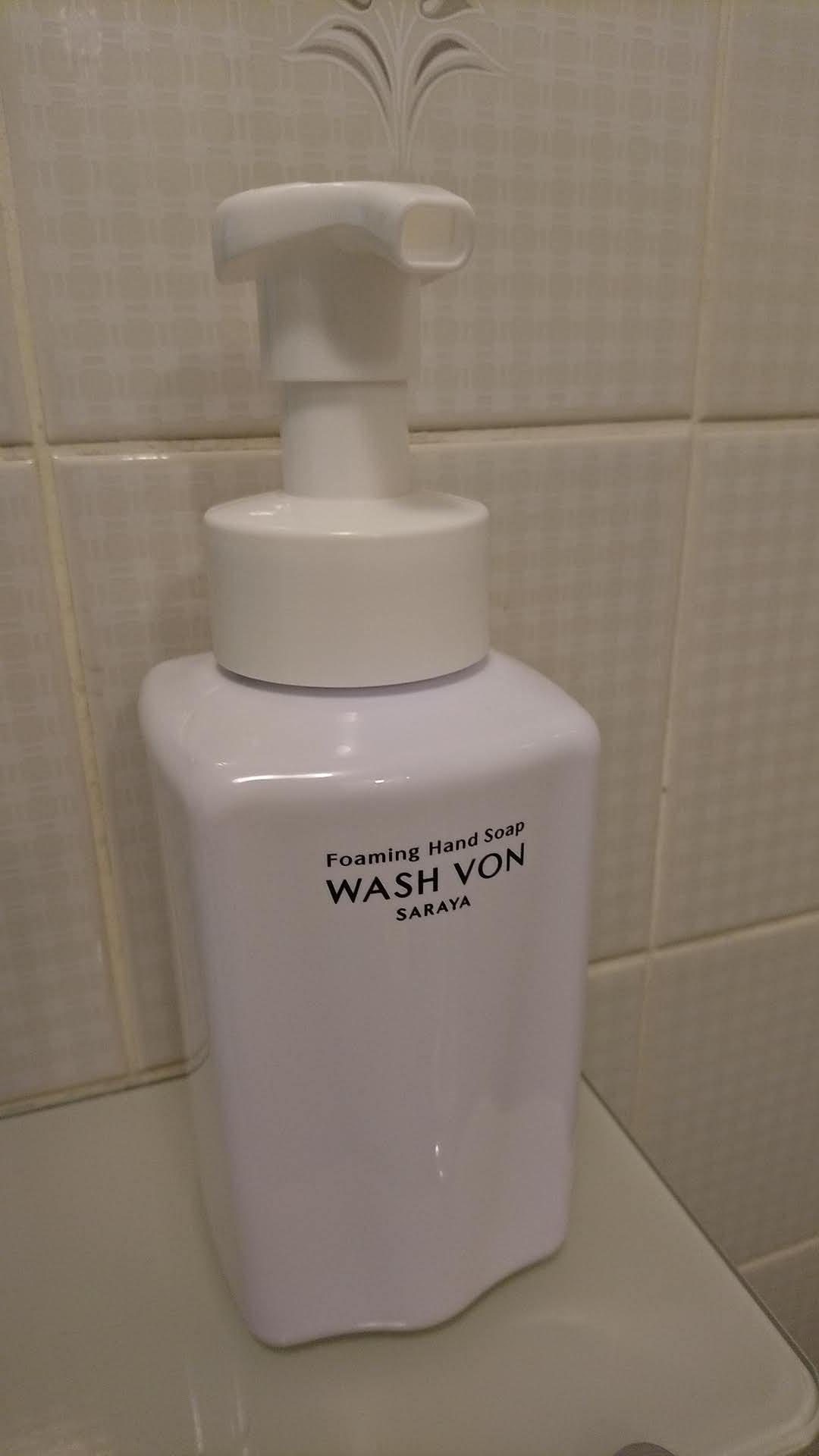 手洗い石けん液 ウォシュボンシトラスフォーム サラヤ(株)製
