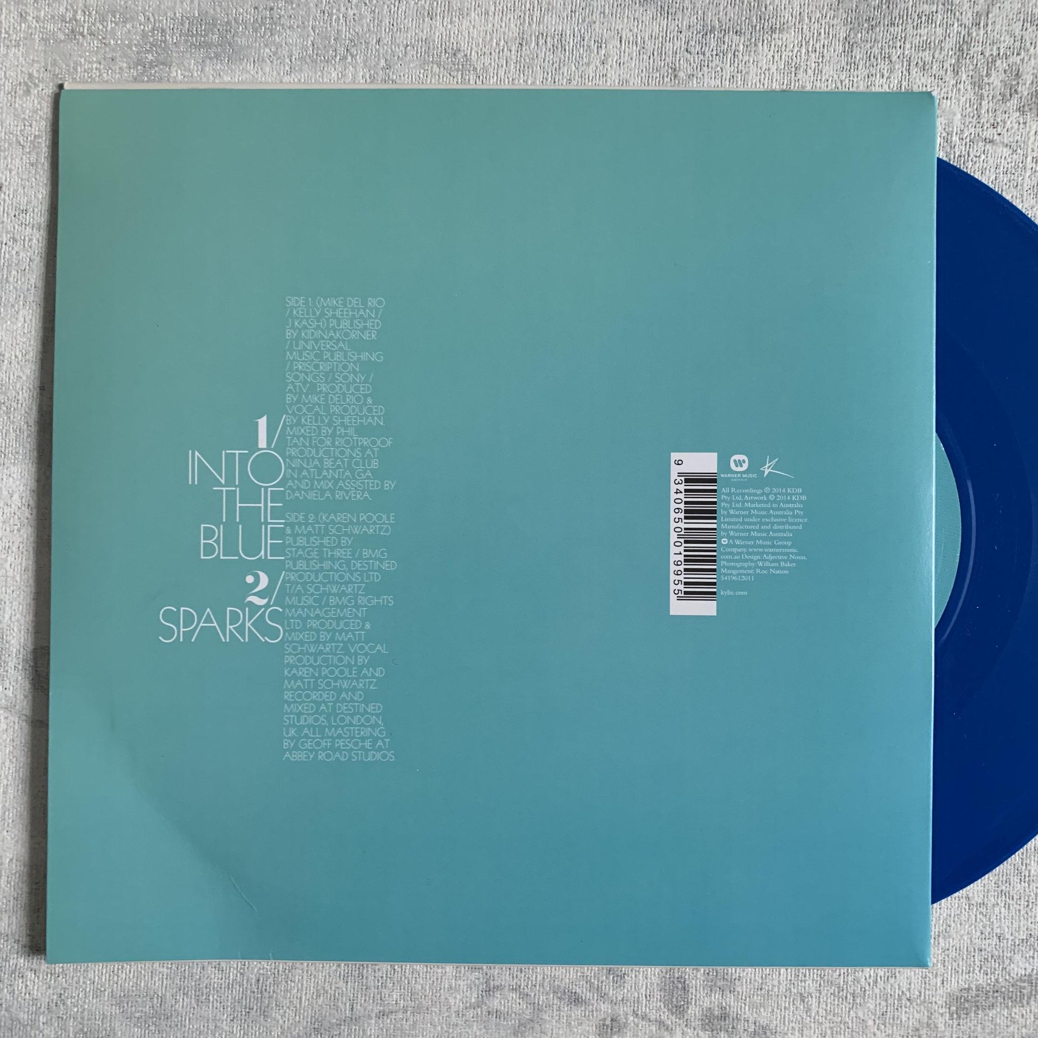 """OZ 7"""" Blue Vinyl"""