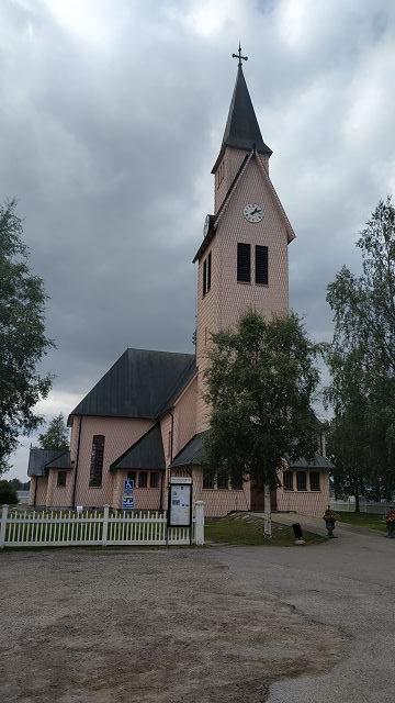 Kirche in Arjeplog