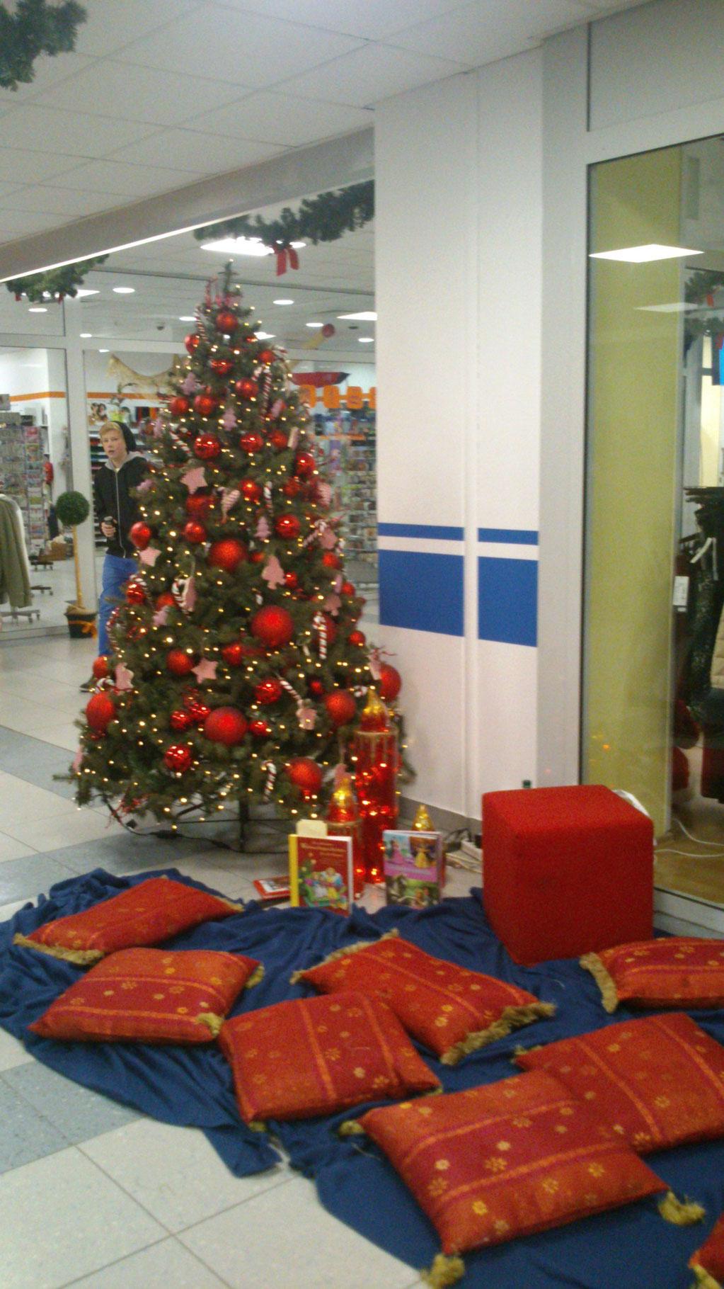 Weihnachtspromo Einkaufscenter